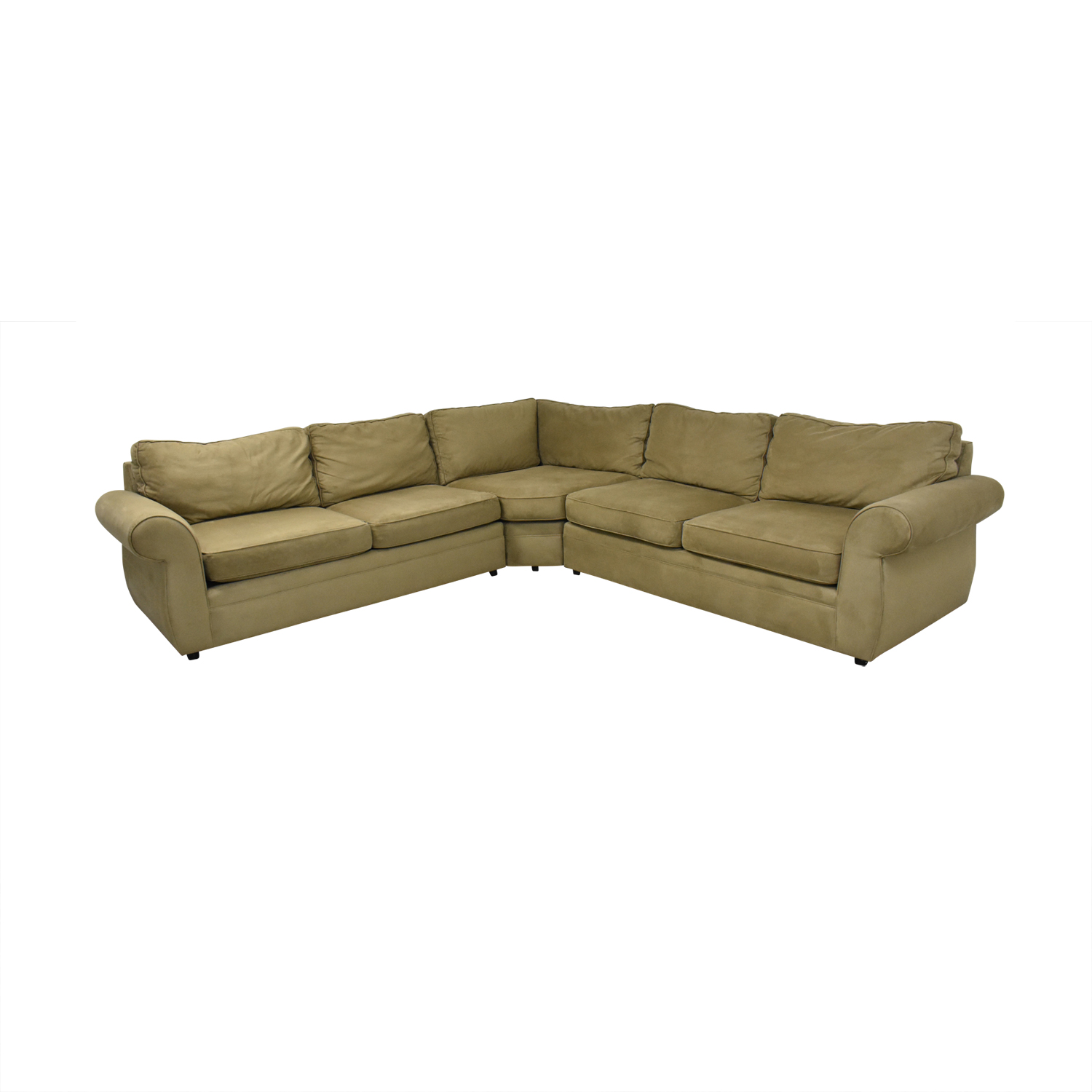 buy Pottery Barn Pearce Roll Arm L Shaped Sectional Sofa Pottery Barn Sectionals