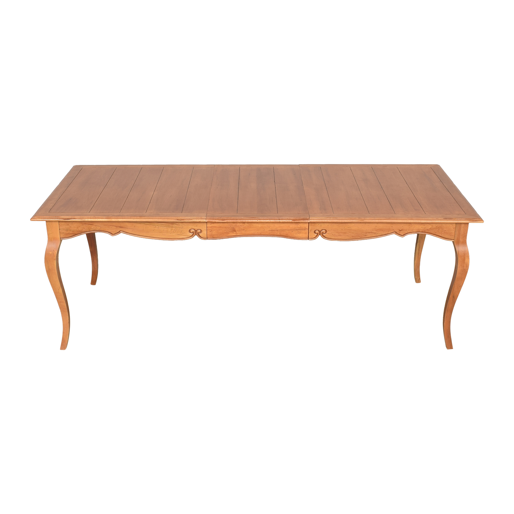 Ethan Allen Ethan Allen Legacy Collection Extendable Dining Table nyc