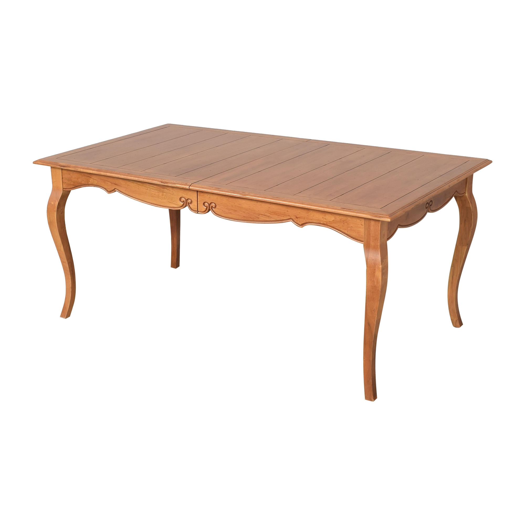 Ethan Allen Ethan Allen Legacy Collection Extendable Dining Table ma