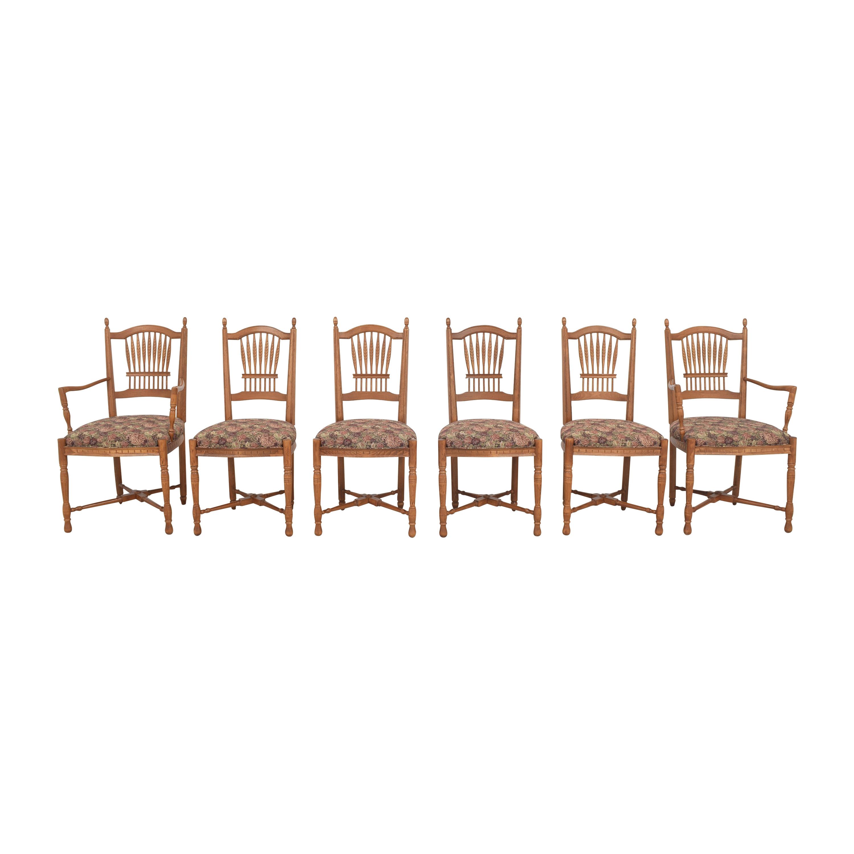 shop Ethan Allen Ethan Allen Wheat Back Dining Chairs online