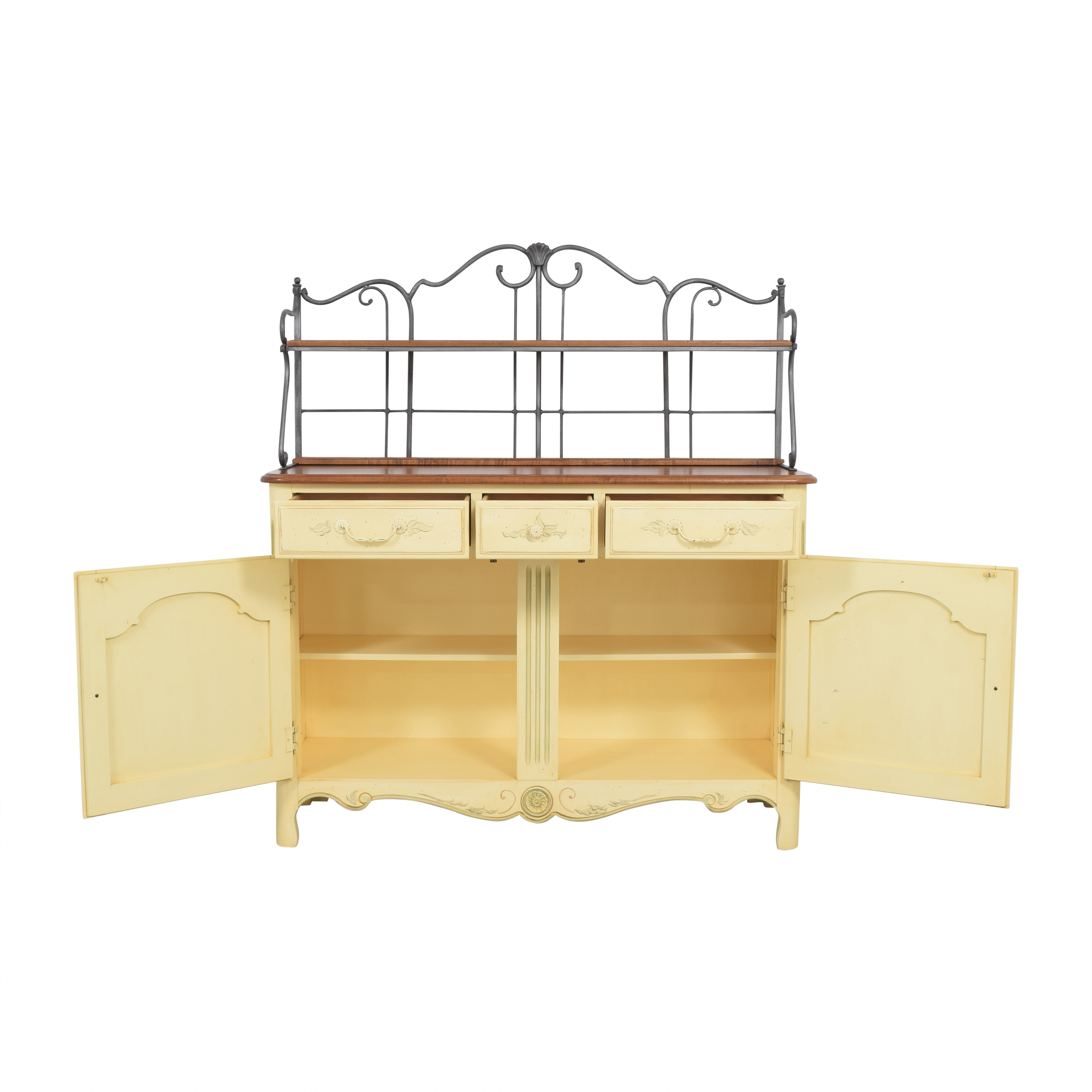 buy Ethan Allen Legacy Country French Server Buffet Ethan Allen Storage