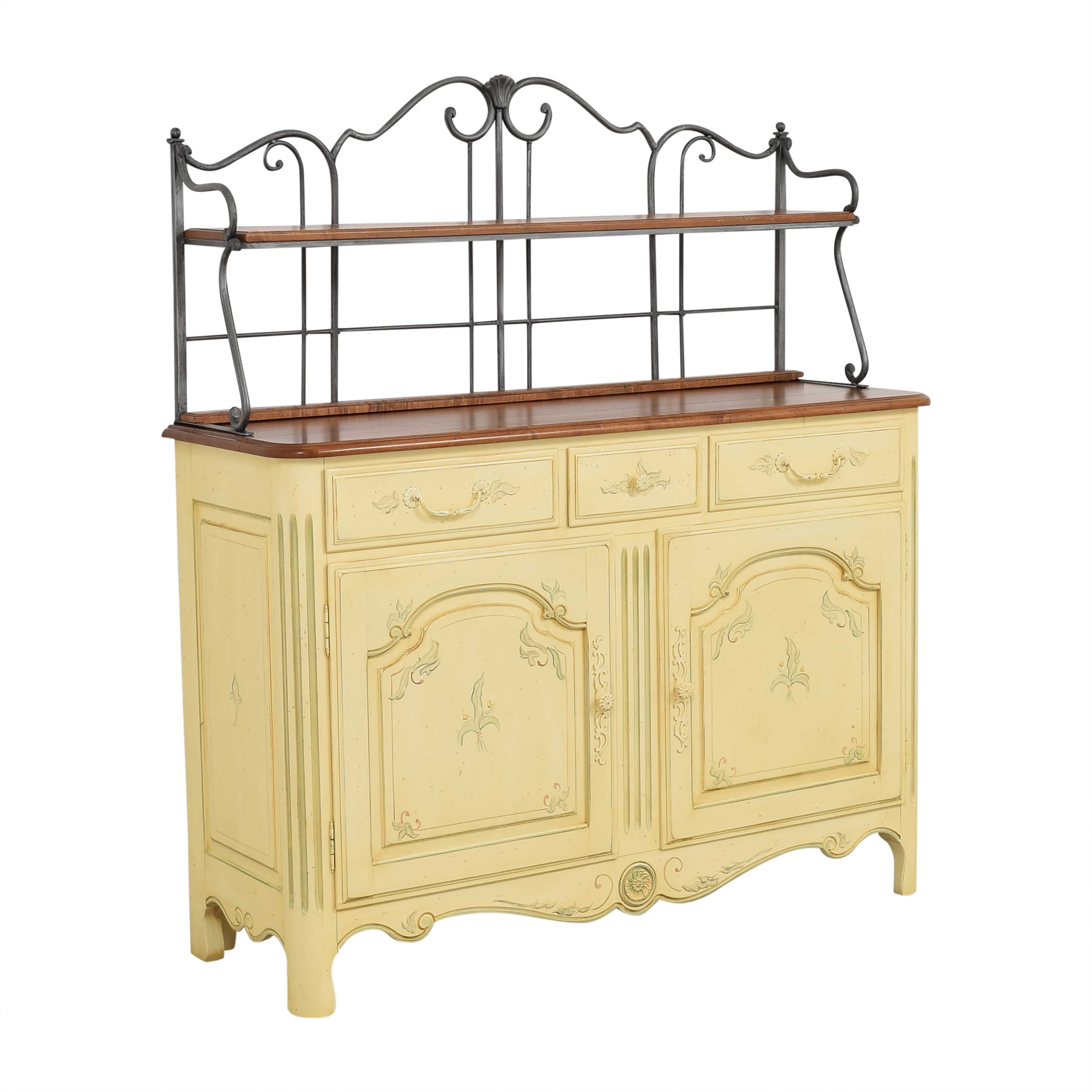 shop Ethan Allen Legacy Country French Server Buffet Ethan Allen Storage