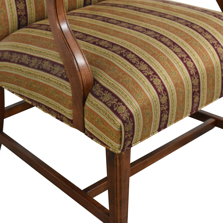 buy Ethan Allen Martha Washington Arm Chair Ethan Allen Accent Chairs