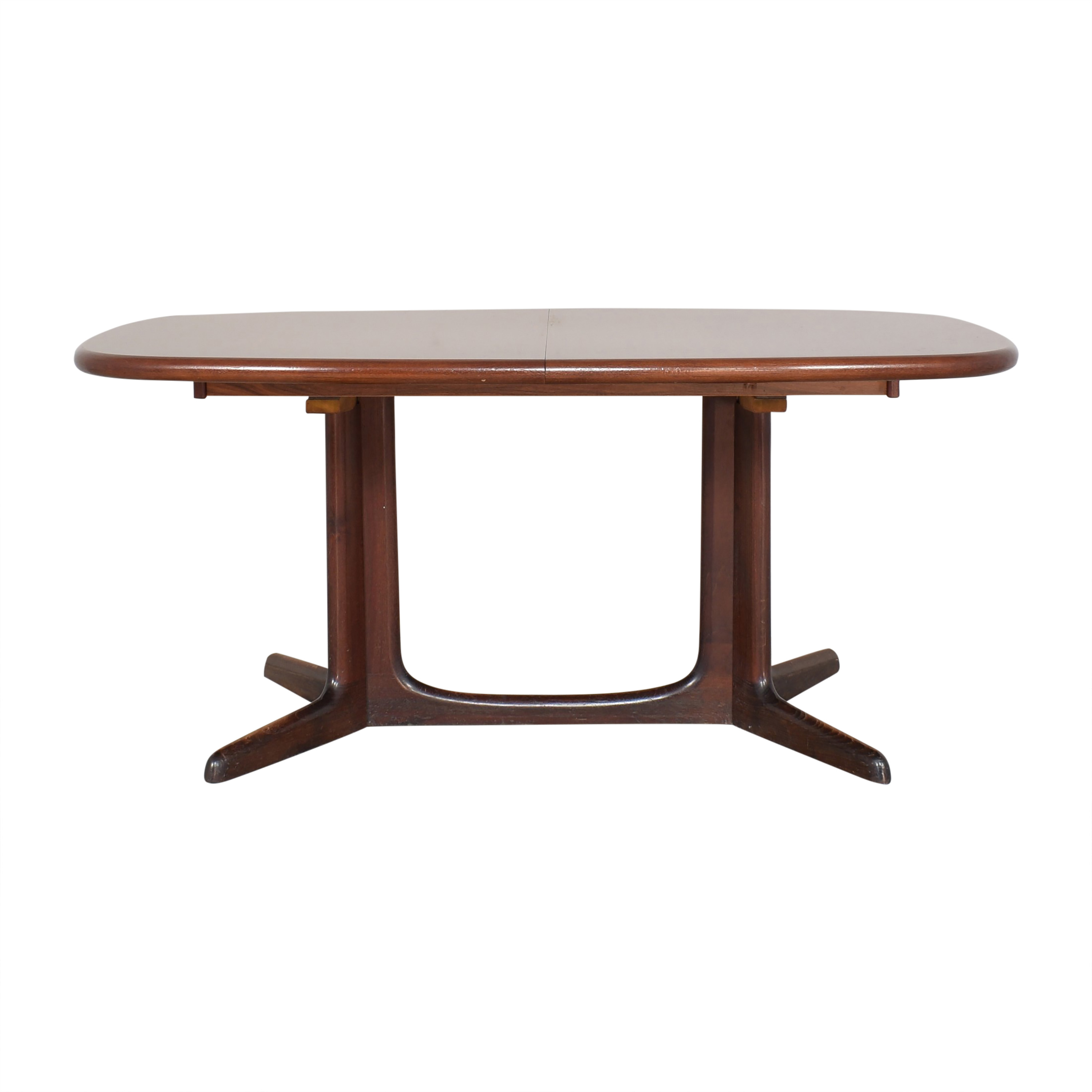 Danish-Style Extendable Dining Table Dinner Tables