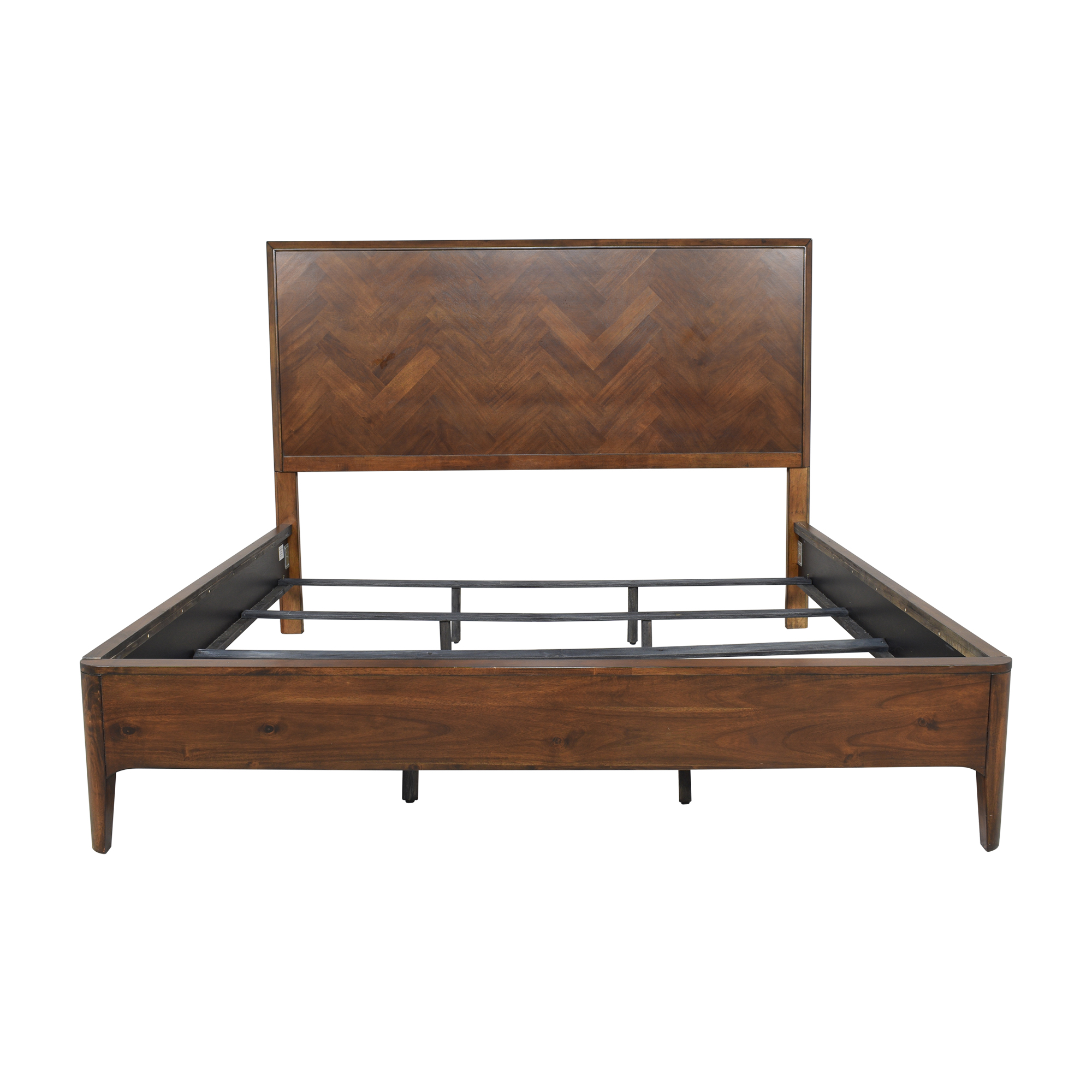 Raymour & Flanigan Raymour & Flanigan King Platform Bed  dimensions
