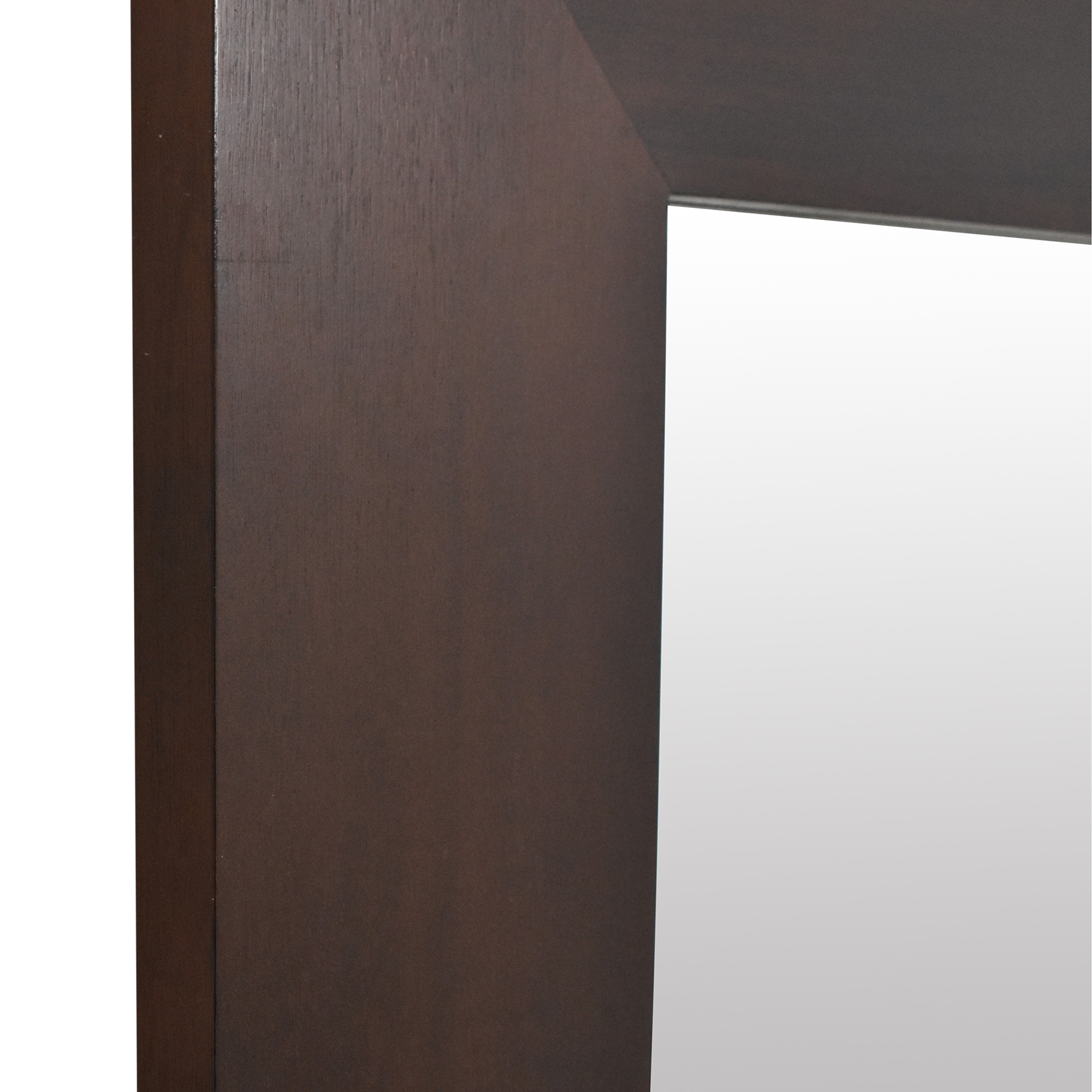 Square Framed Wall Mirror used