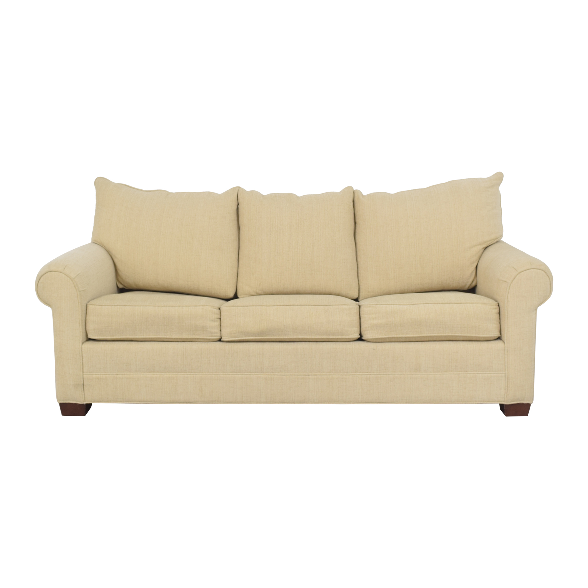 Huntington House Huntington House Roll Arm Sleeper Sofa