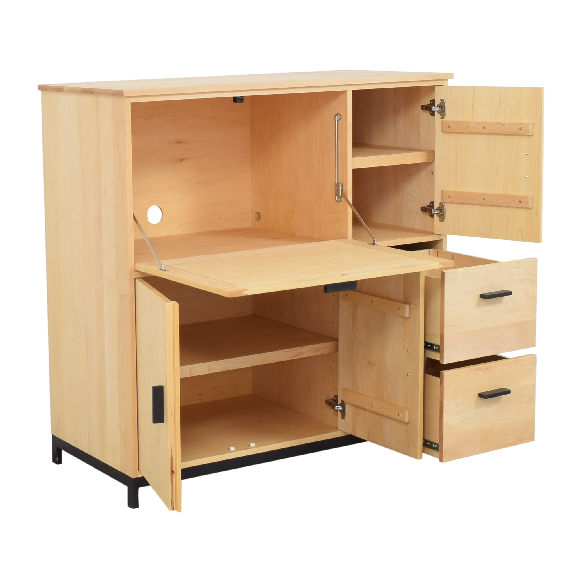 shop Room & Board Linear Office Armoire with Two File Drawers Room & Board