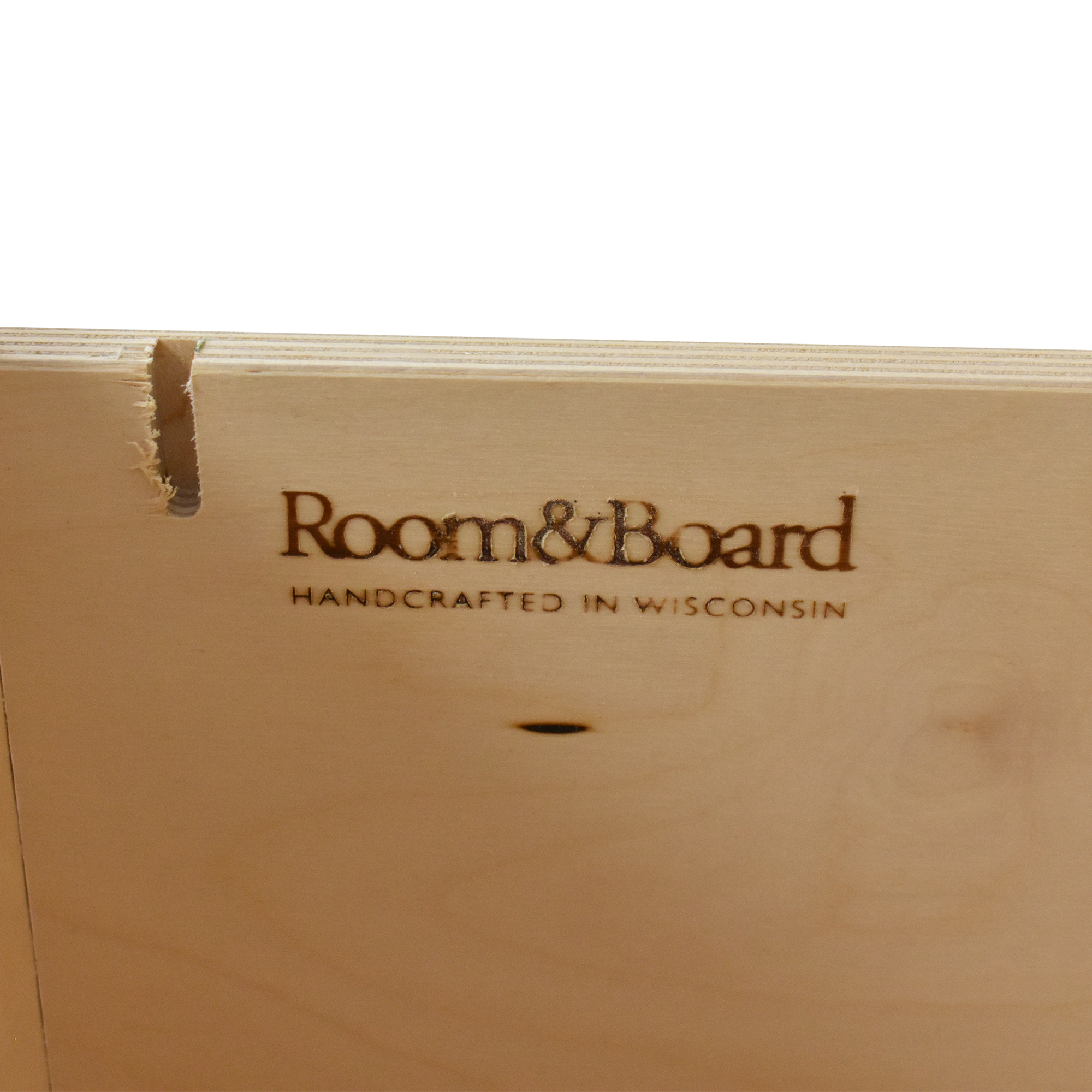 buy Room & Board Linear Office Armoire with Two File Drawers Room & Board Wardrobes & Armoires