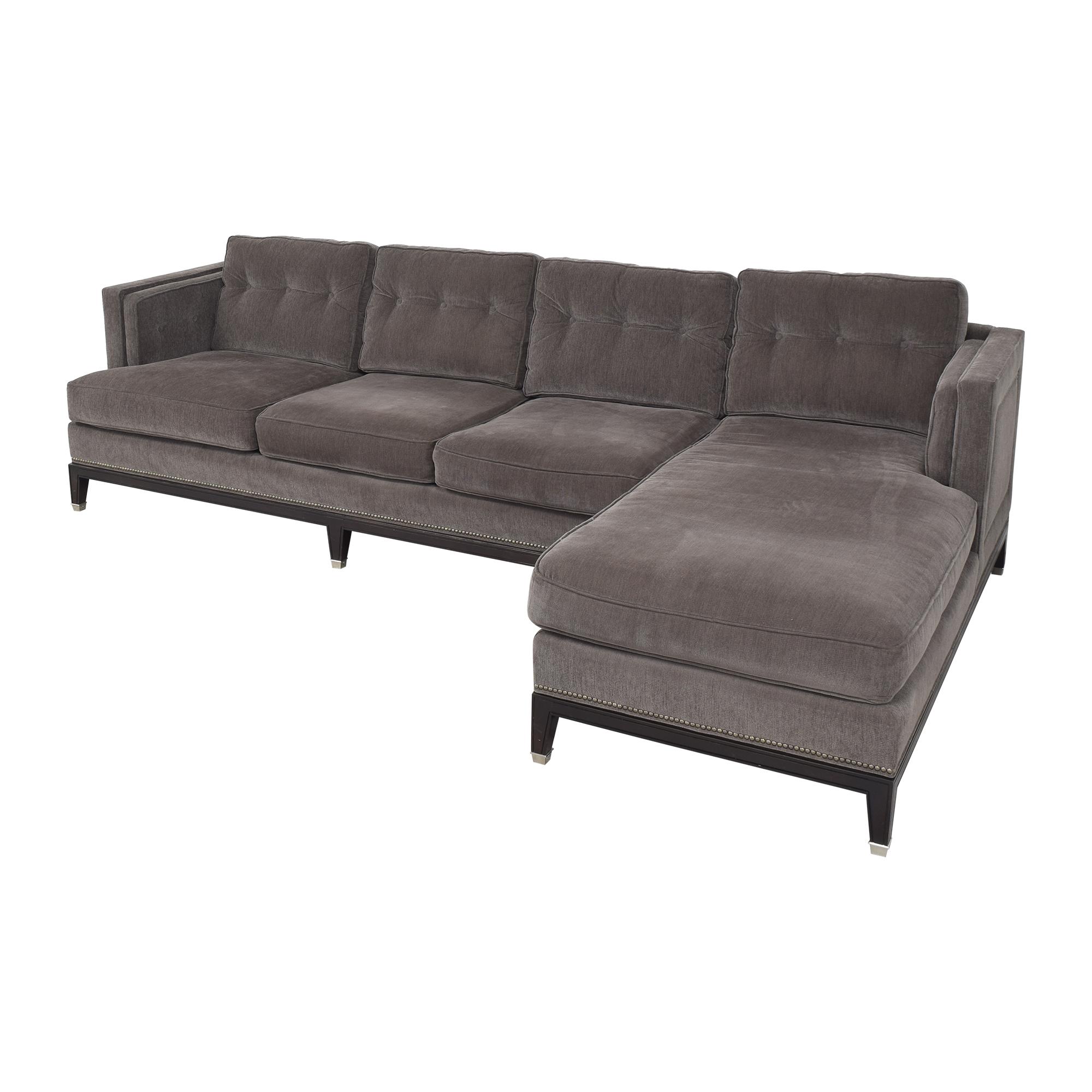 buy Vanguard Furniture Vanguard Furniture Michael Weiss Whitaker Sectional Sofa online