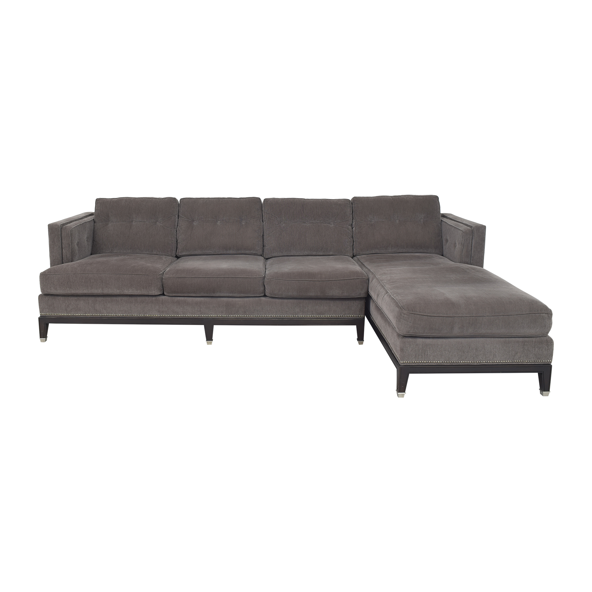 Vanguard Furniture Vanguard Furniture Michael Weiss Whitaker Sectional Sofa nyc