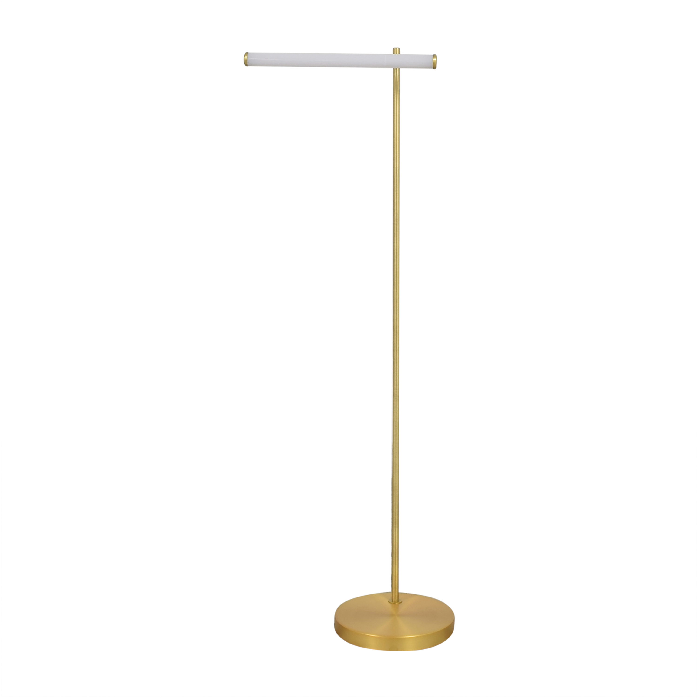 West Elm West Elm Light Rods Reader Floor Lamp Lamps