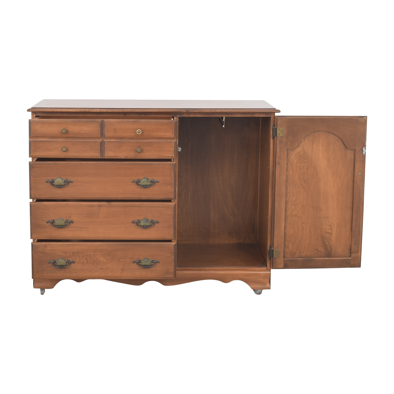 Four Drawer Dresser with Cabinet / Storage