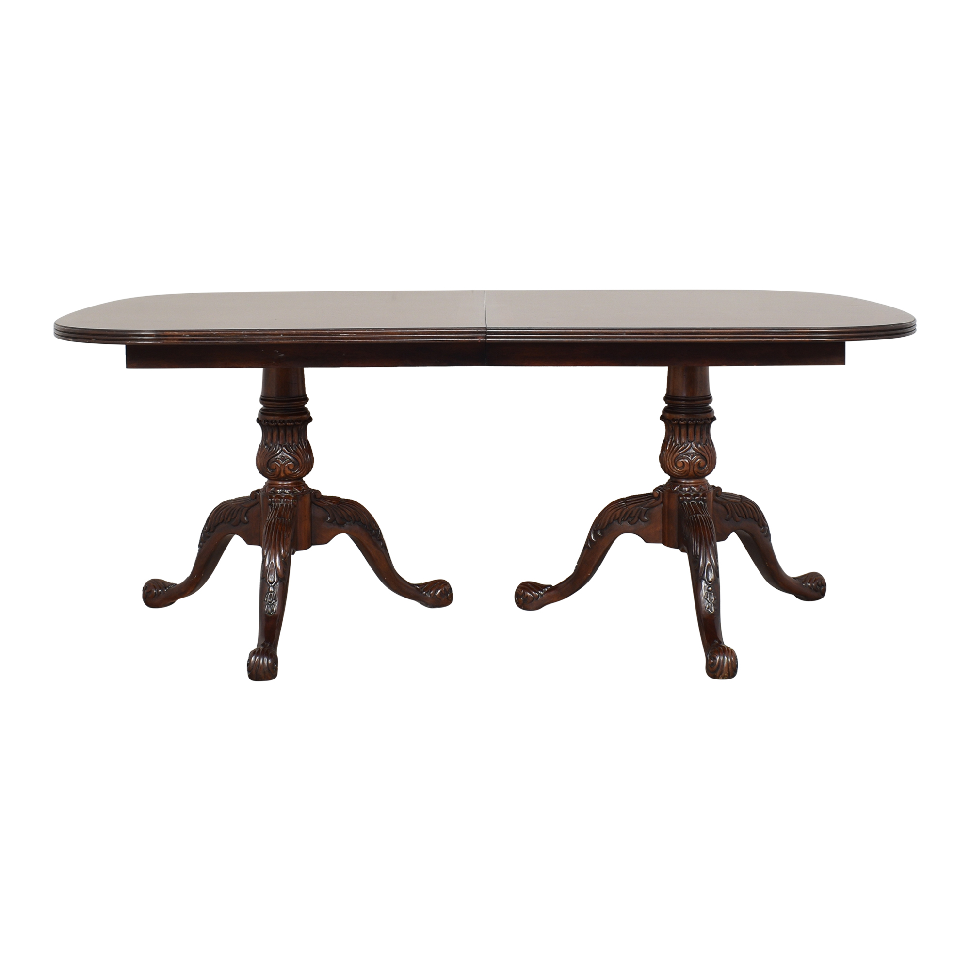 Drexel Heritage Drexel Heritage Double Pedestal Extendable Dining Table ct