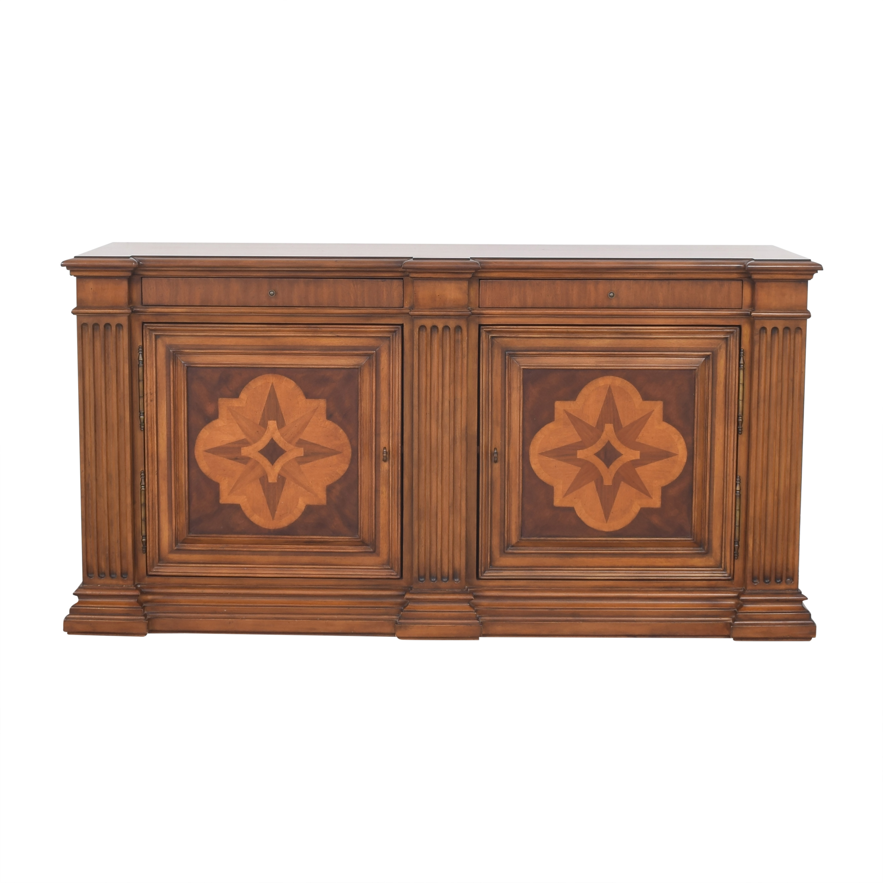 Ethan Allen Ethan Allen Lombardy Marquetry Sideboard ct