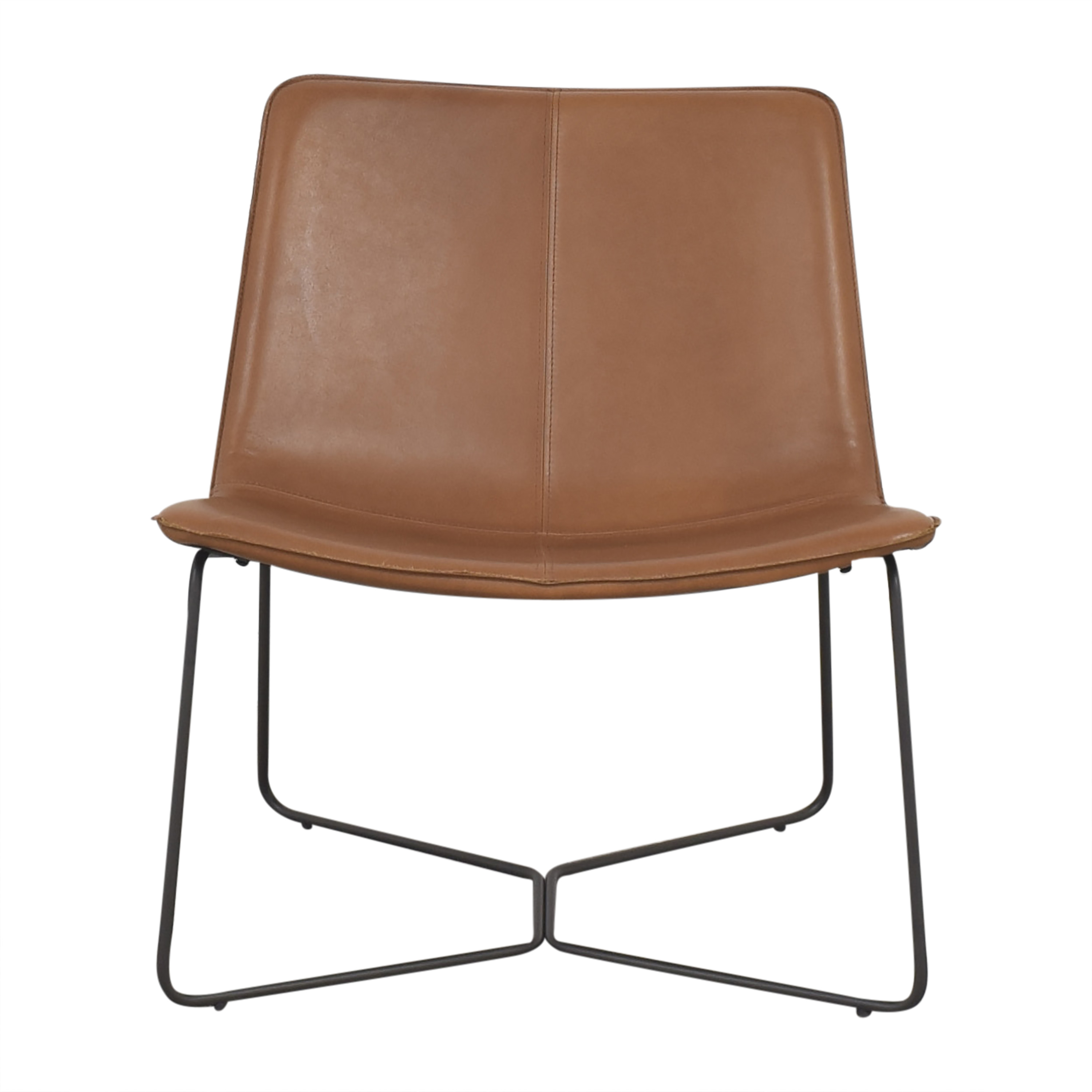 shop West Elm Slope Modern Lounge Chair West Elm Accent Chairs