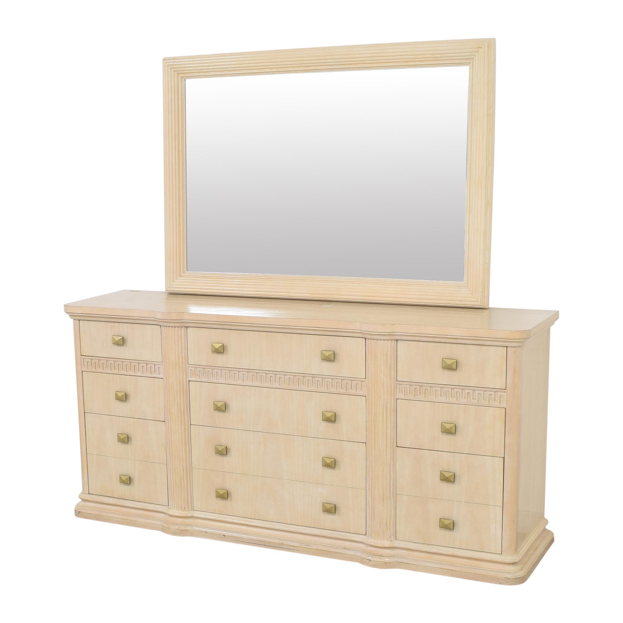 Drexel Heritage Drexel Heritage Wide Dresser with Mirror used