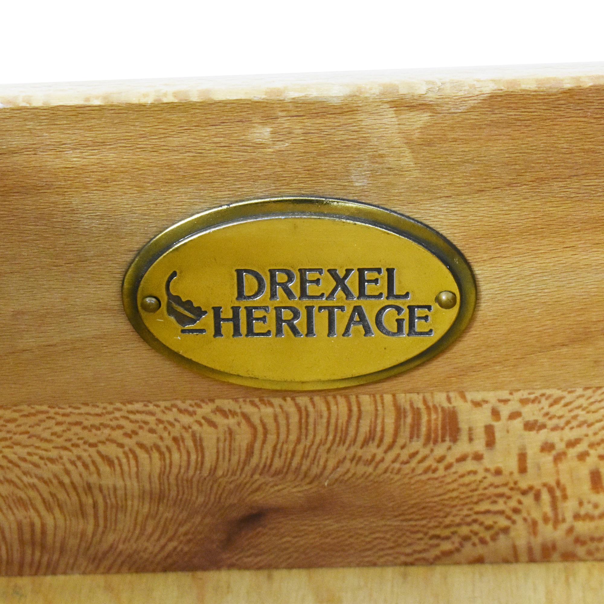Drexel Heritage Drexel Heritage Wide Dresser with Mirror beige