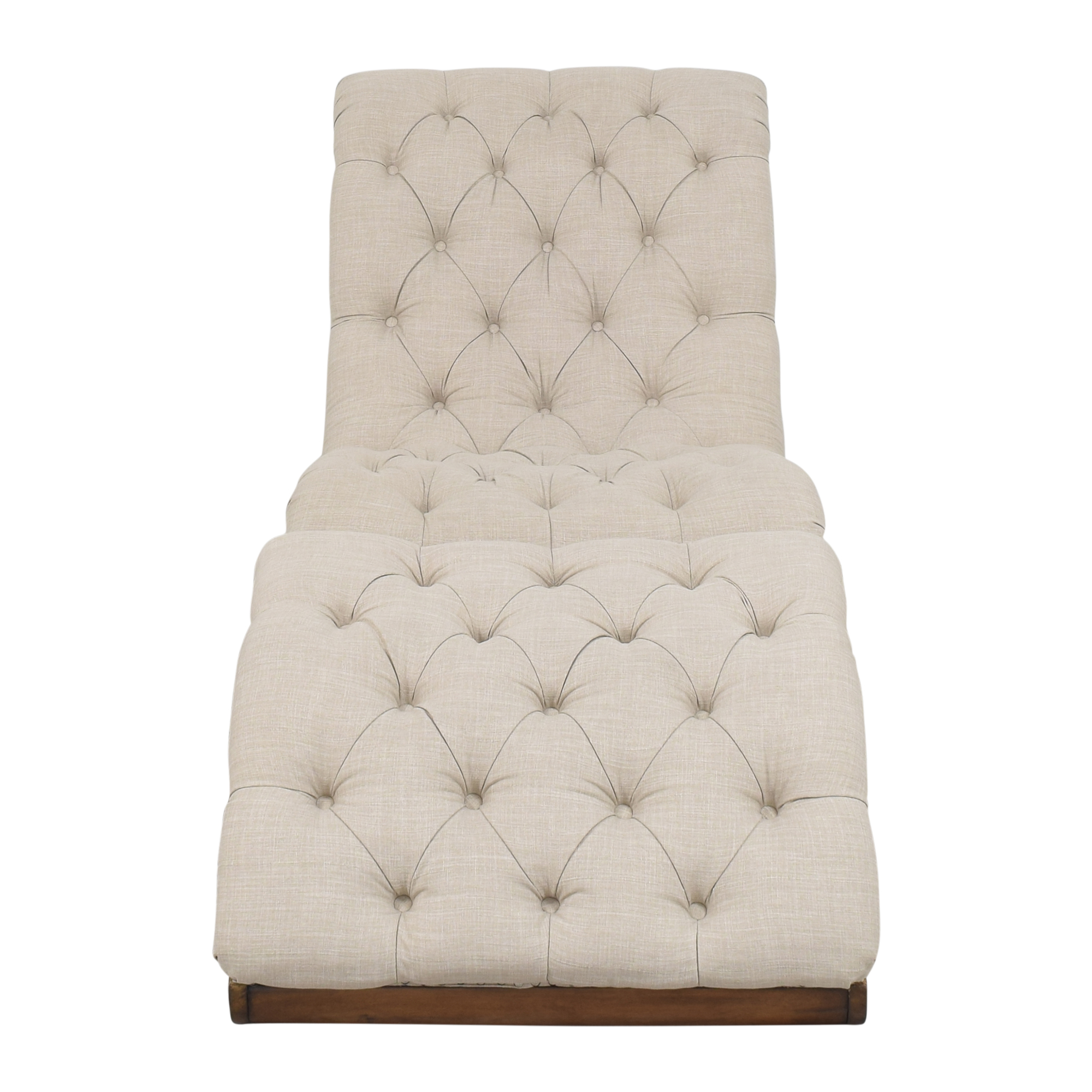 Lark Manor Lark Manor Versailles Tufted Chair with Ottoman price