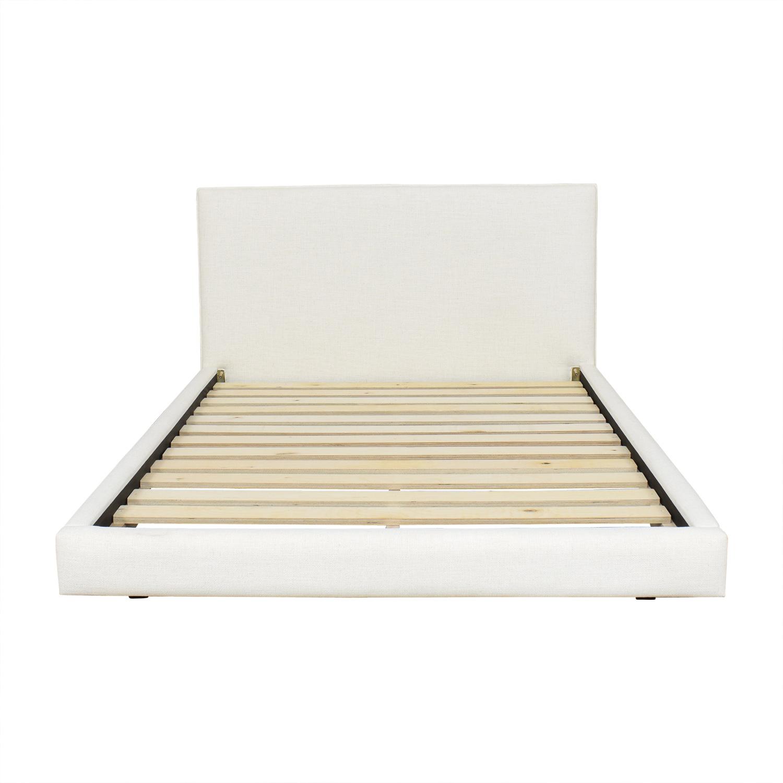 buy CB2 Facade Full Bed CB2 Bed Frames