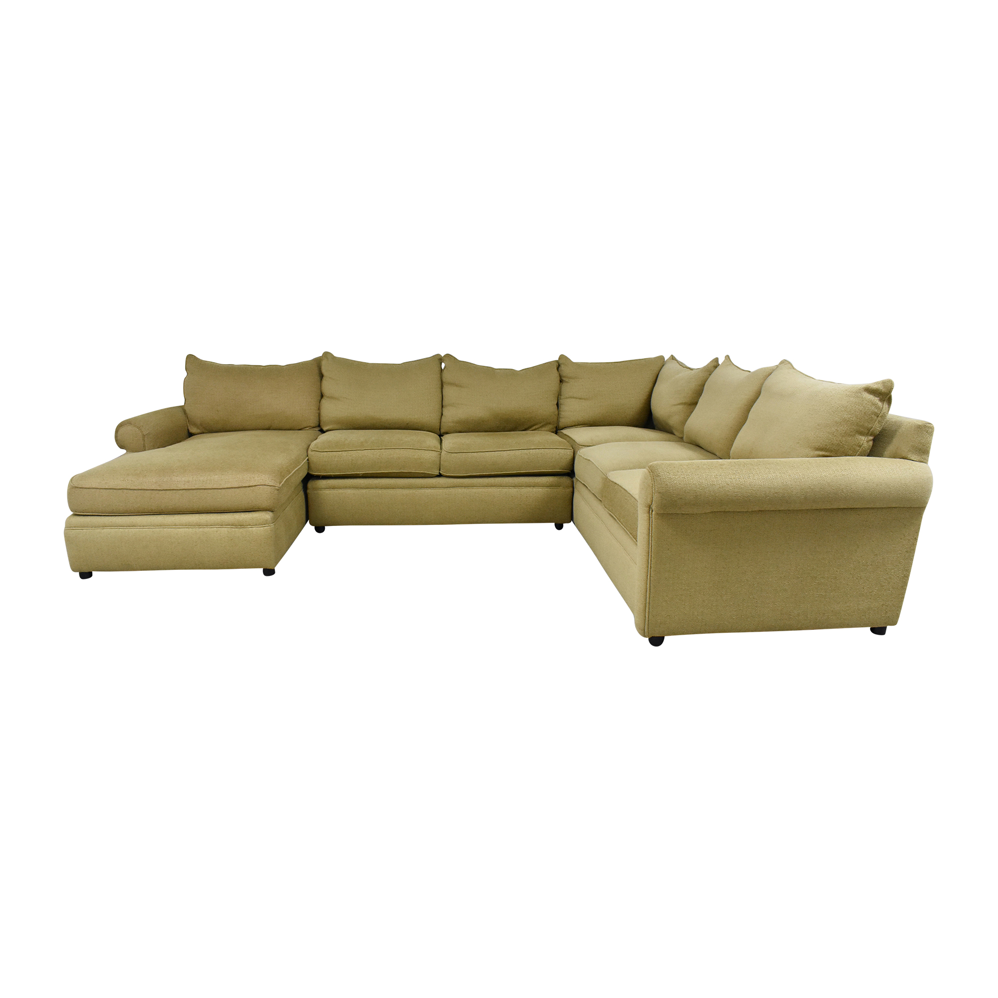Domain Home Domain Home Sectional Sofa with Chaise second hand