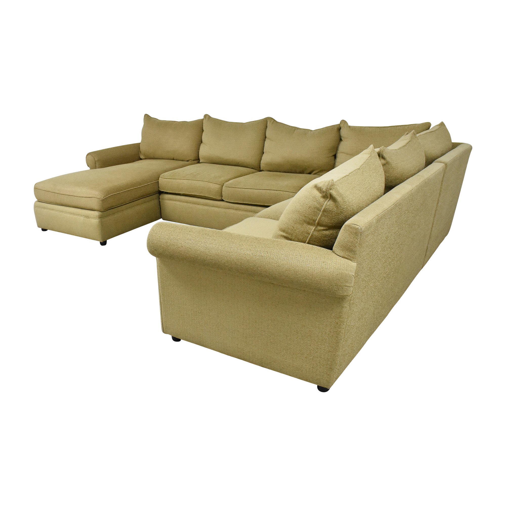 Domain Home Domain Home Sectional Sofa with Chaise used