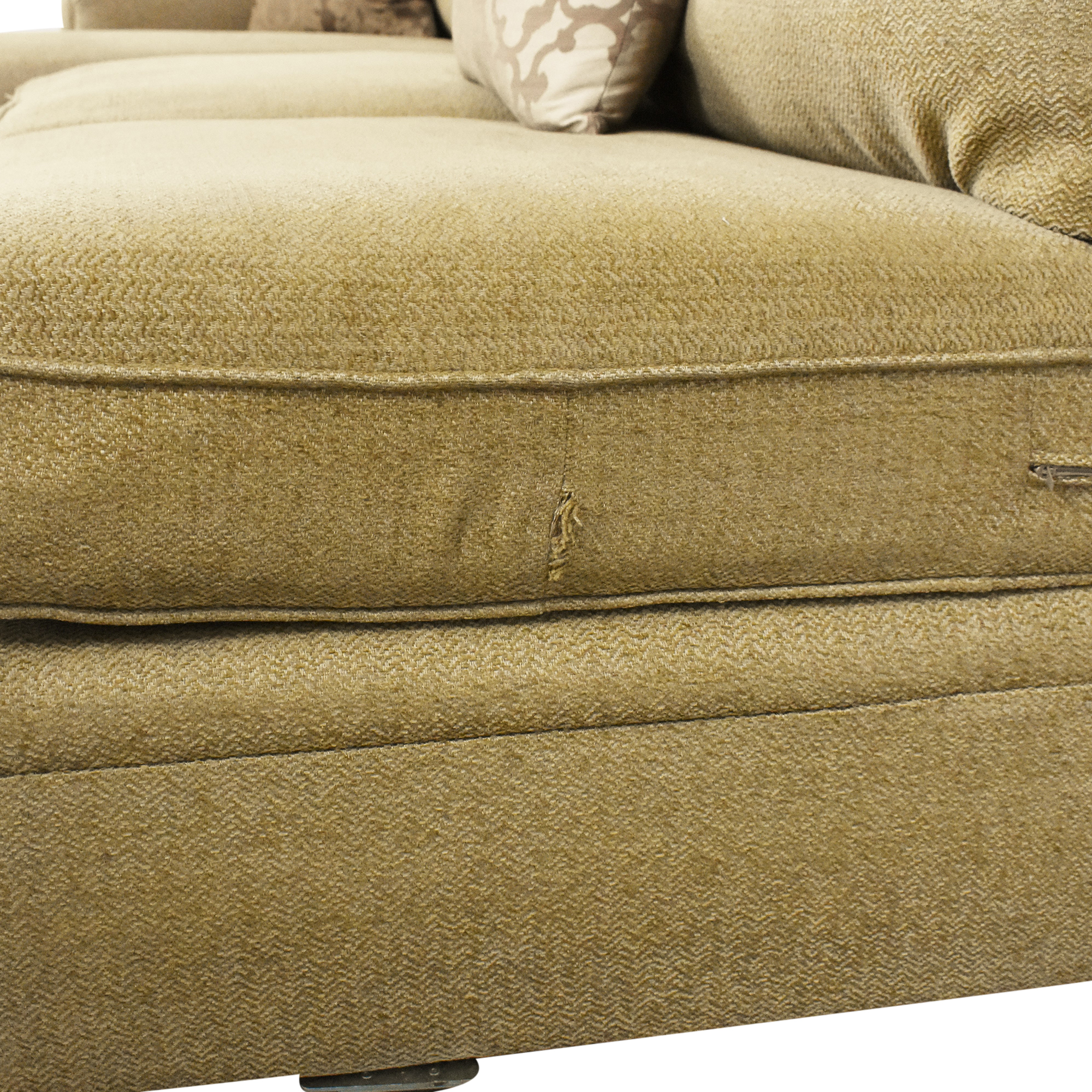 Domain Home Domain Home Sectional Sofa with Chaise nyc