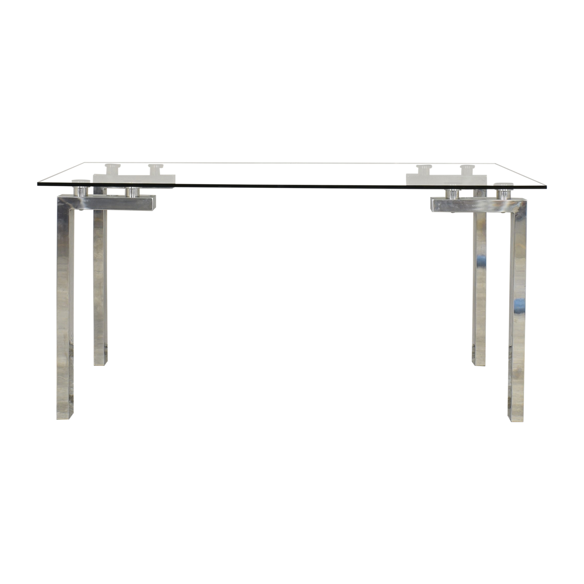 buy Transparent Rectangular Dining Table  Tables