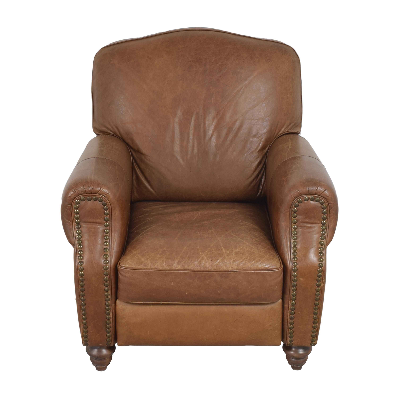 shop Domain Roll Arm Recliner Chair Domain