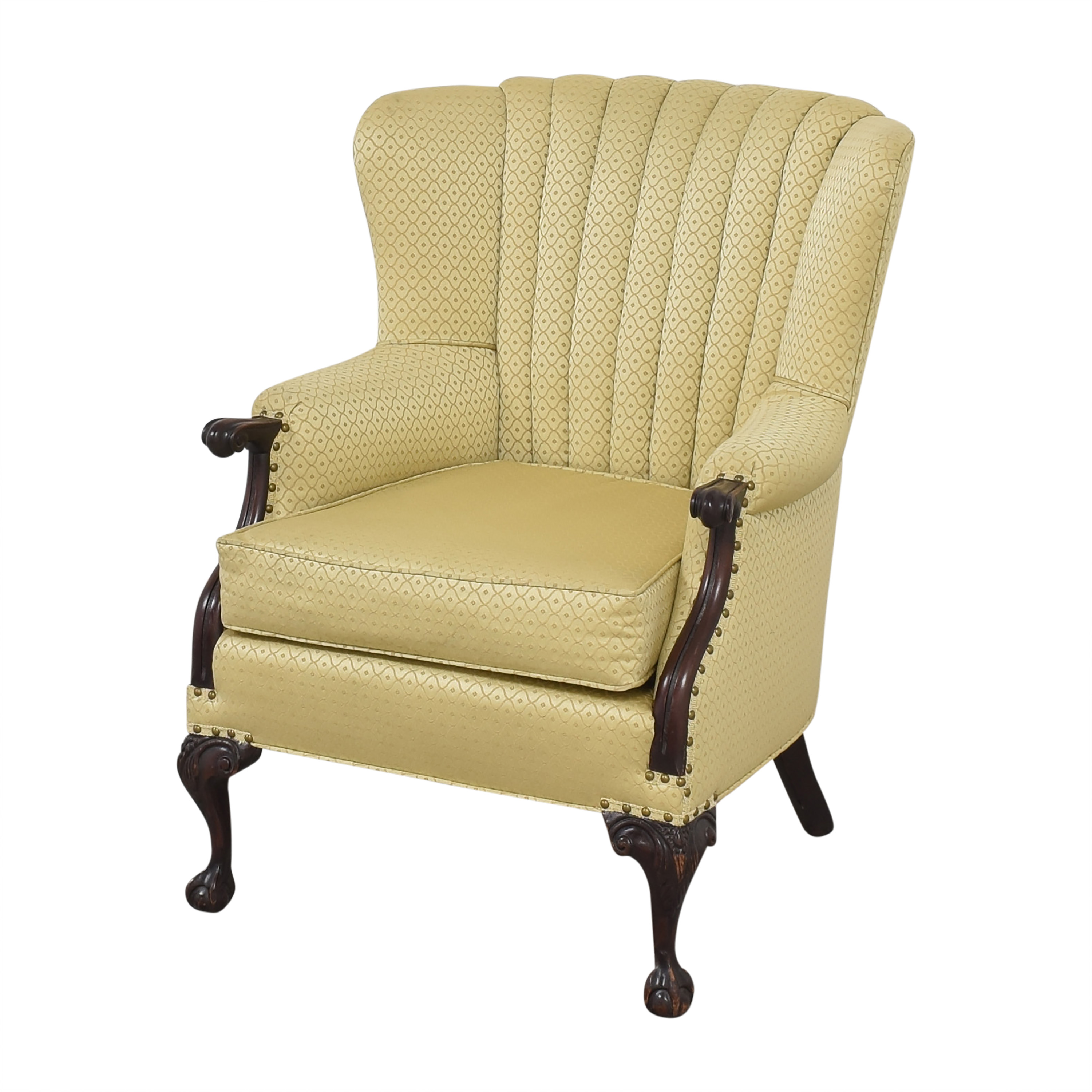 Pleated Accent Chair