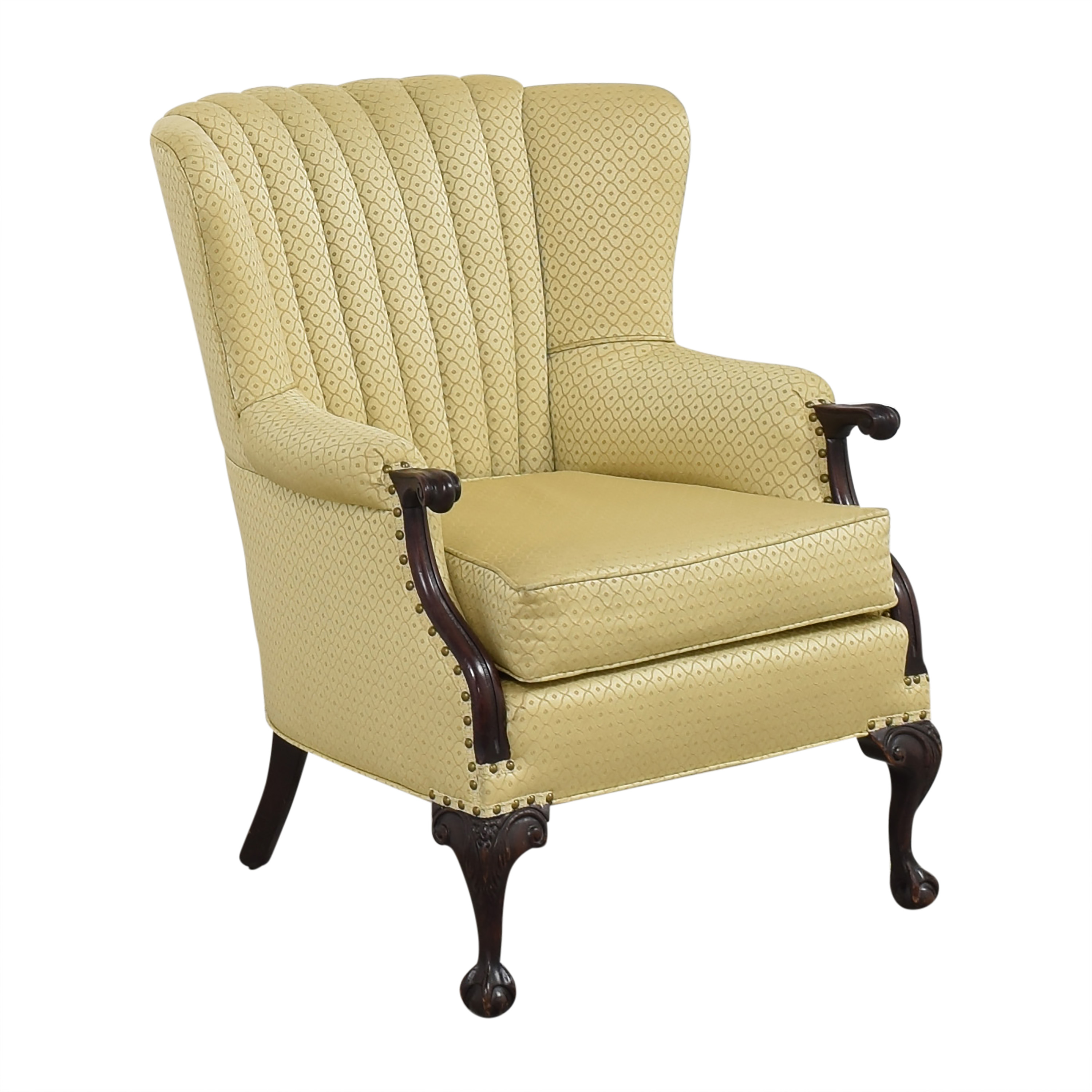 Pleated Accent Chair price