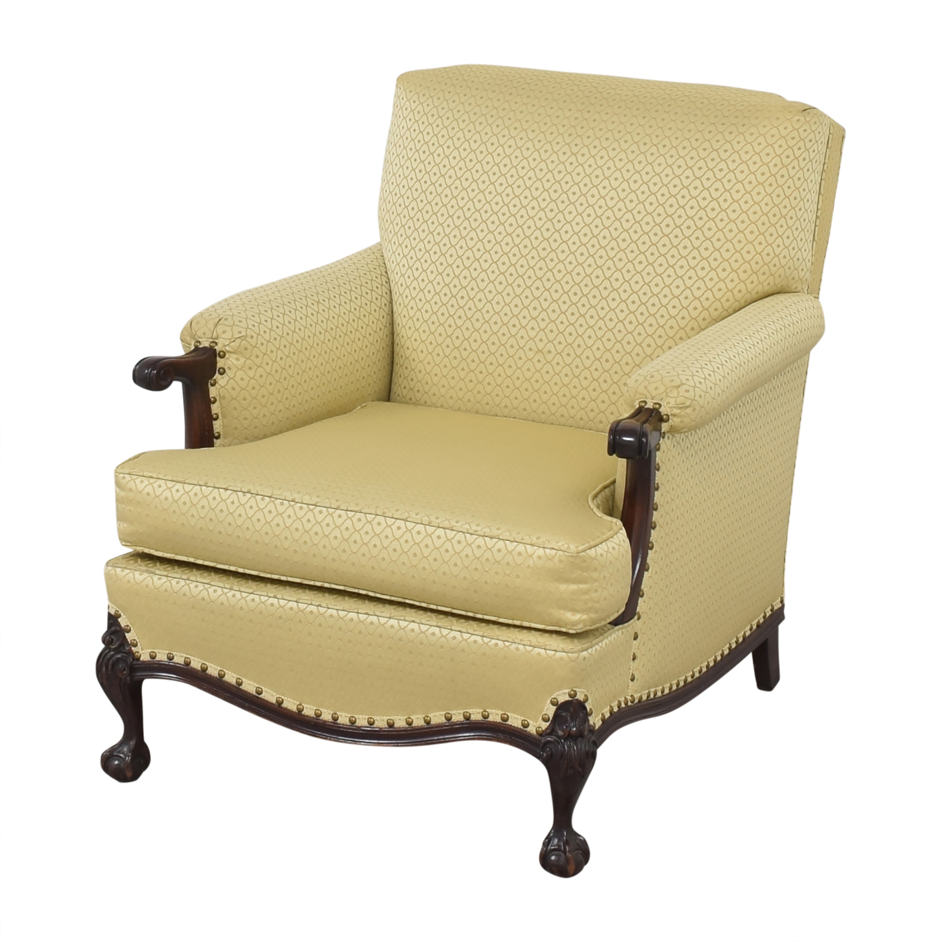 Upholstered Accent Chair  used