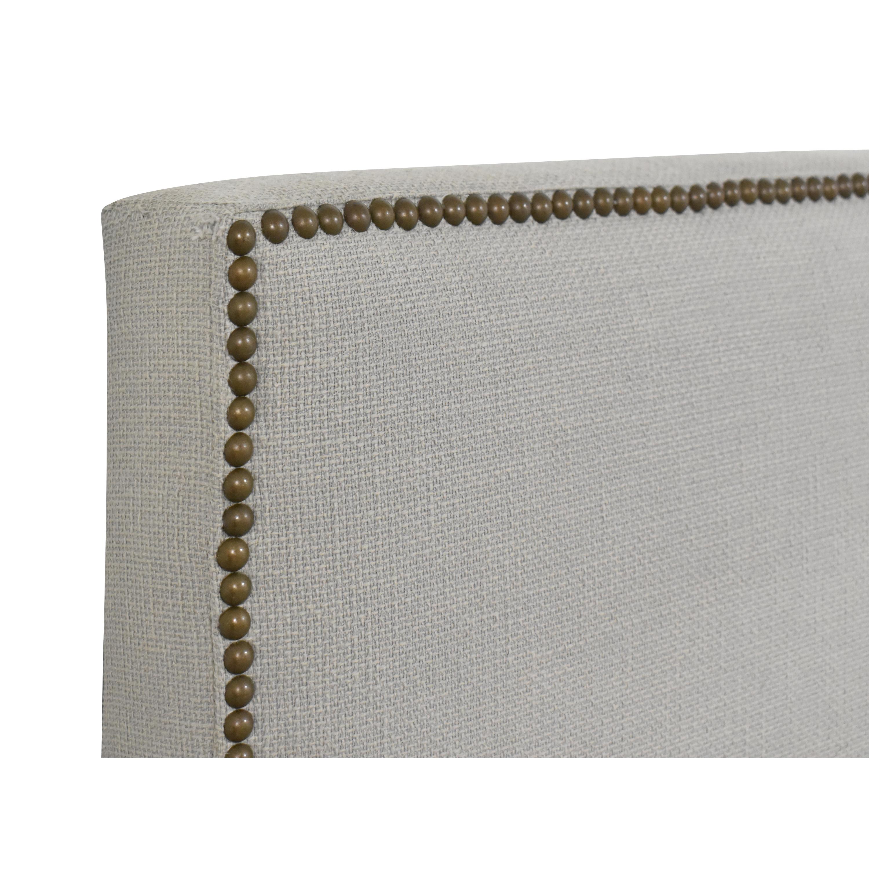 buy West Elm West Elm Nailhead Upholstered Queen Headboard online