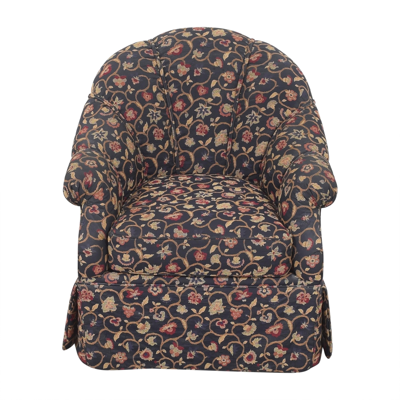 Kravet Kravet Prelude Skirted Swivel Chair on sale