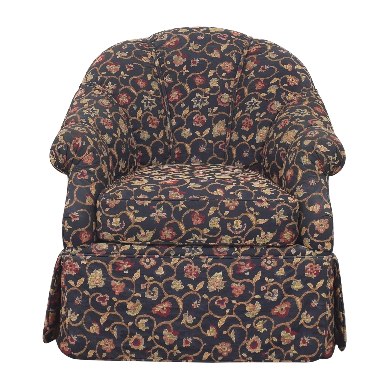 Kravet Kravet Prelude Skirted Swivel Chair second hand