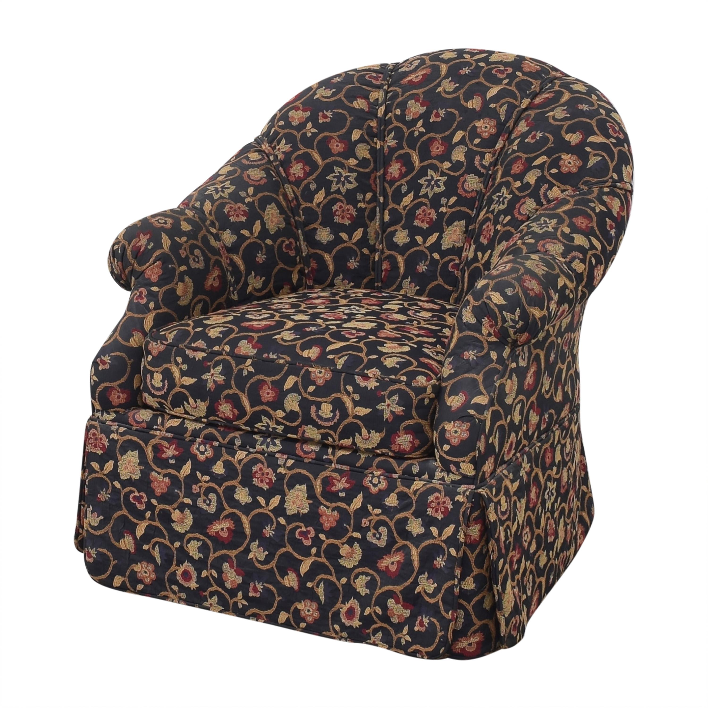 Kravet Prelude Skirted Swivel Chair / Chairs
