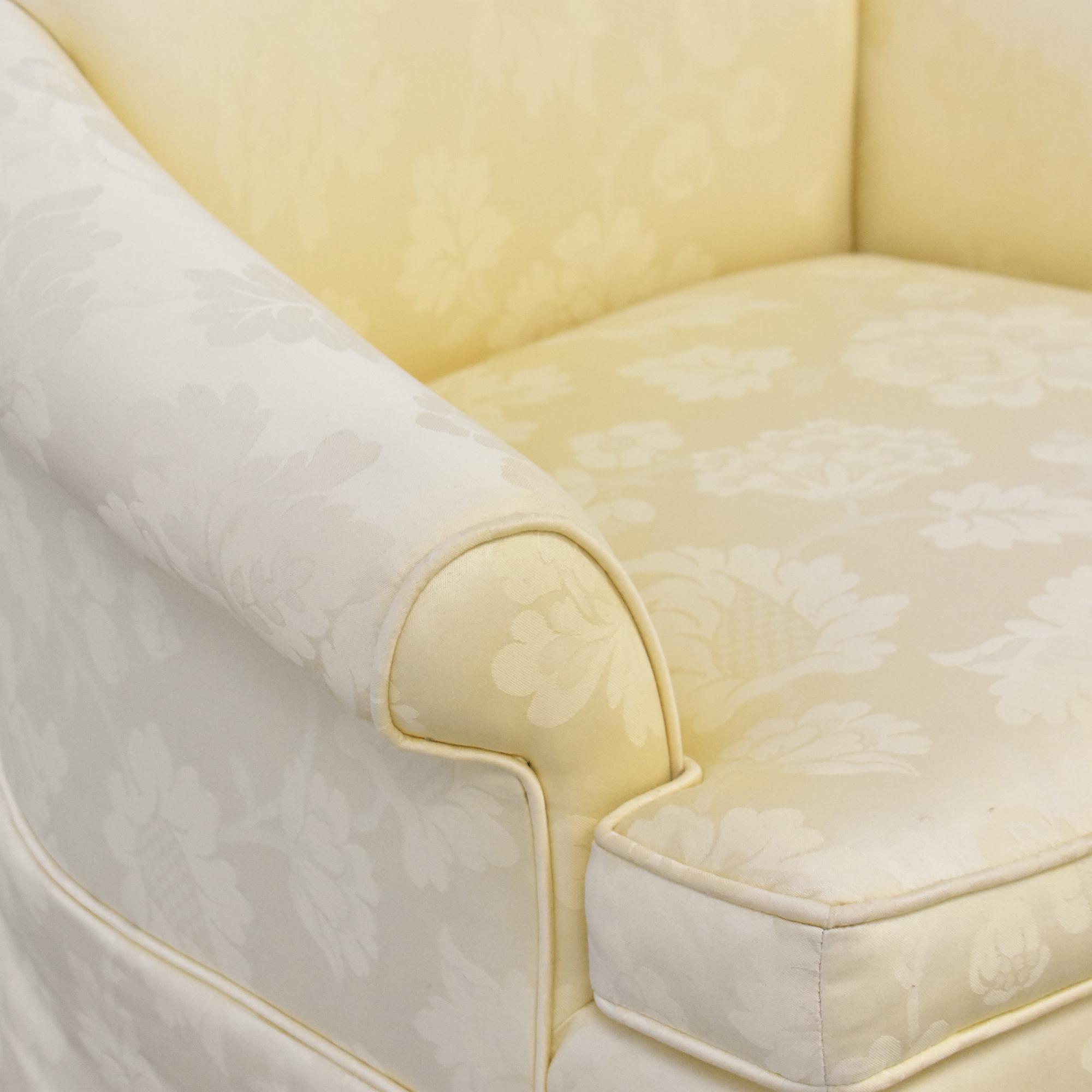 Ethan Allen Ethan Allen Skirted Host Chair ct
