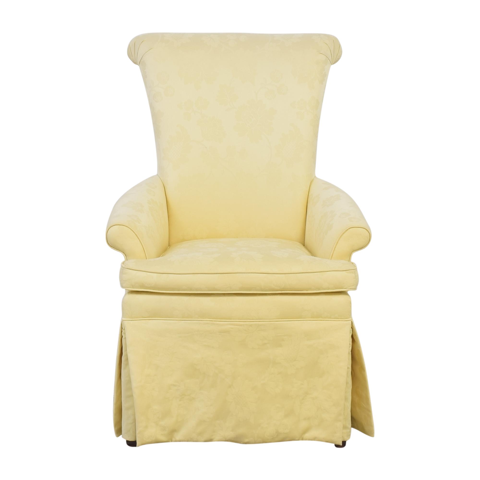 Ethan Allen Ethan Allen Skirted Host Chair second hand