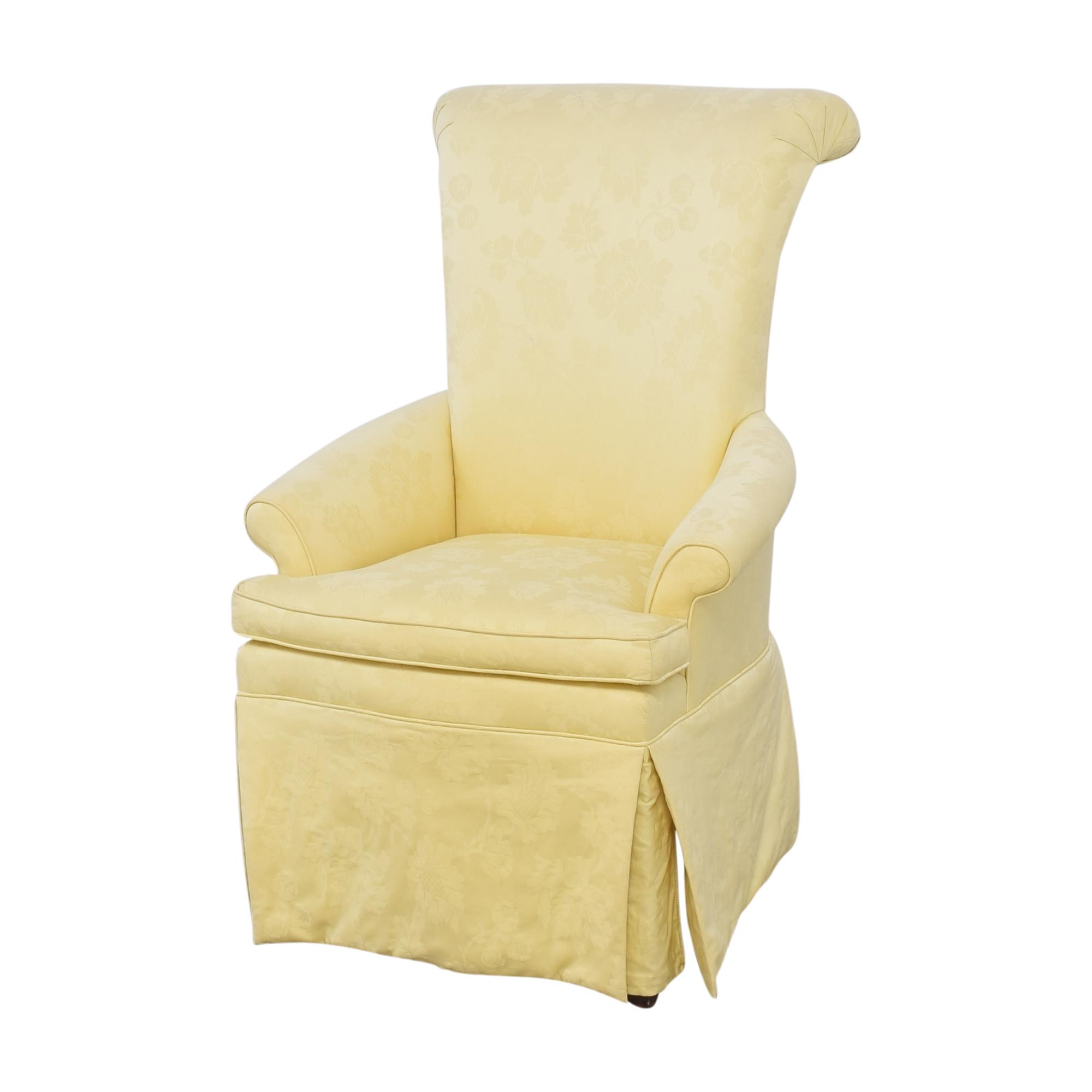 Ethan Allen Ethan Allen Skirted Host Chair dimensions