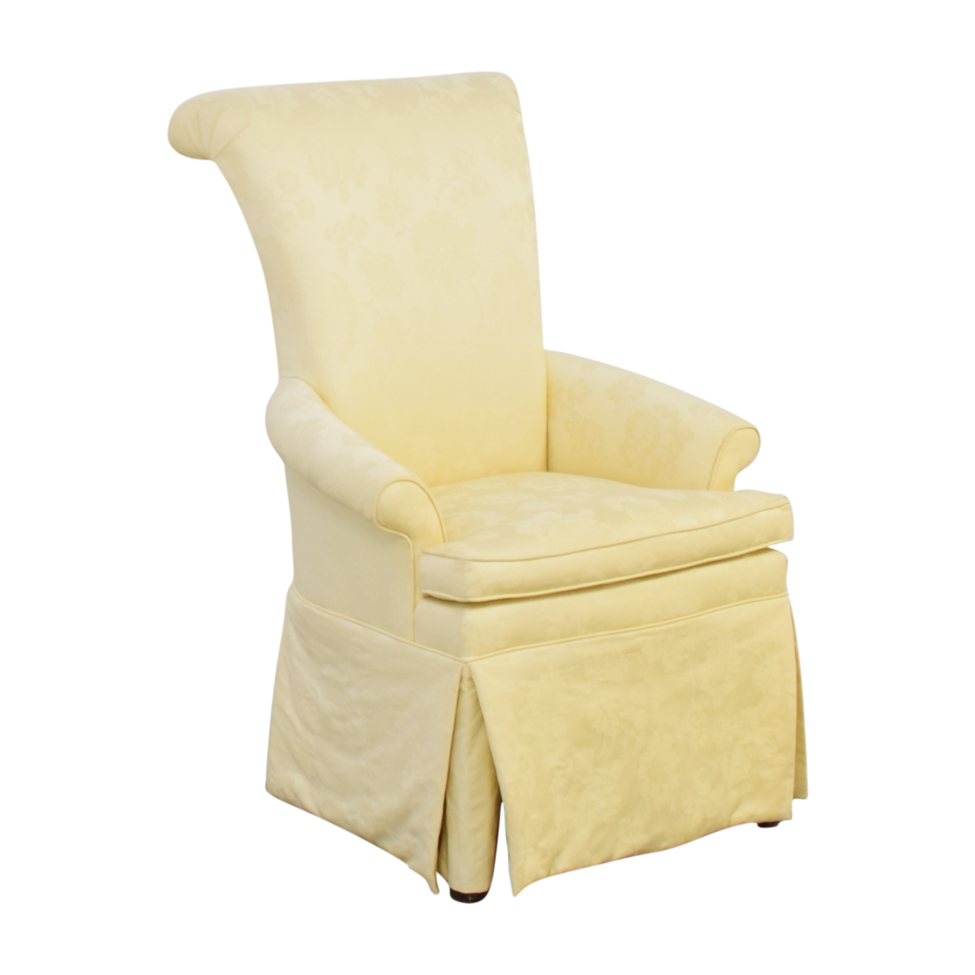 buy Ethan Allen Skirted Host Chair Ethan Allen Dining Chairs