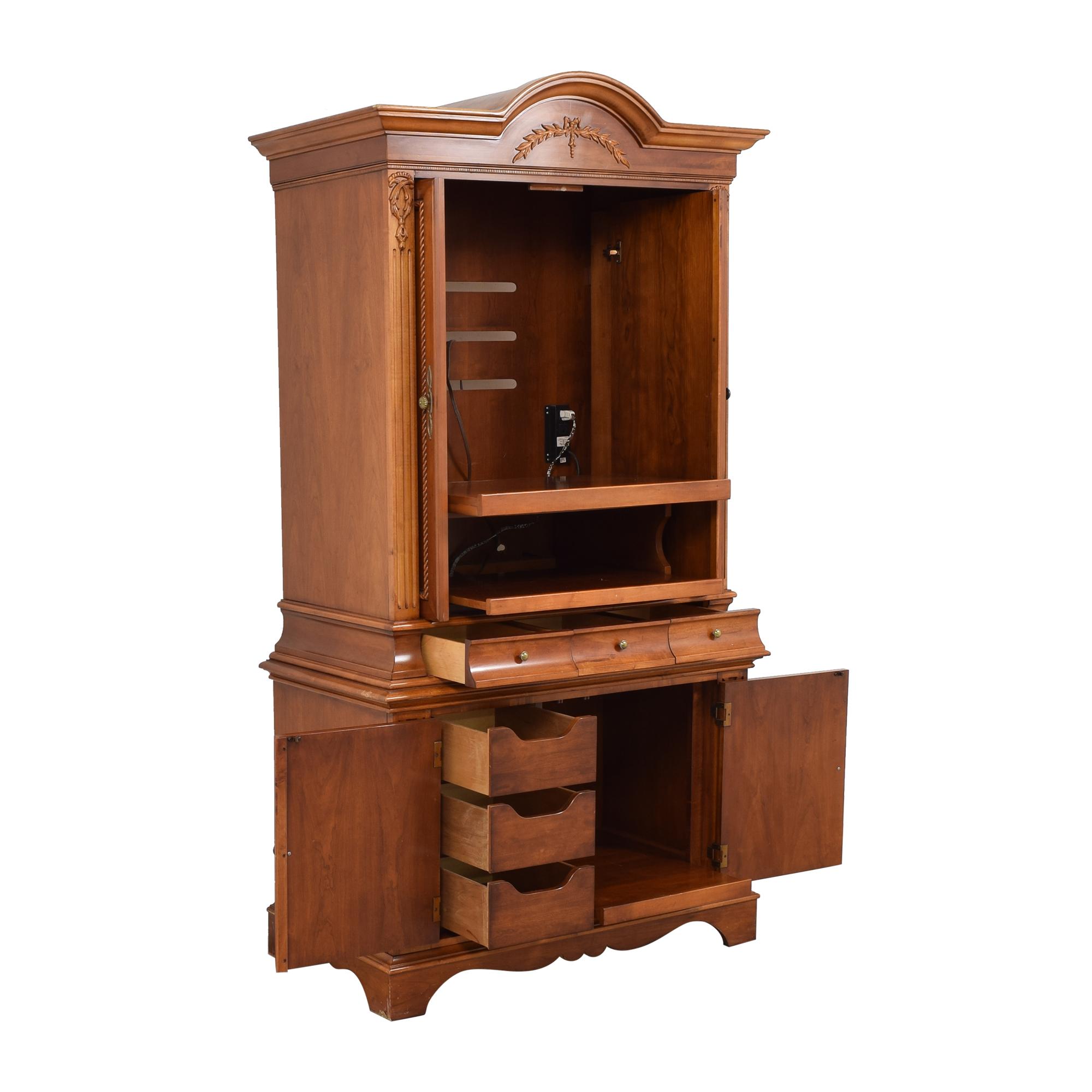 Lexington Furniture Lexington Furniture Holyn Media Armoire Storage