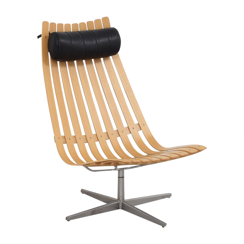 Fjordfiesta Fjordfiesta Scandia Senior Easy Swivel Chair by Hans Brattrud for sale