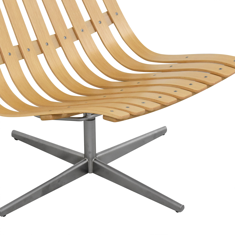 Fjordfiesta Fjordfiesta Scandia Senior Easy Swivel Chair by Hans Brattrud Accent Chairs
