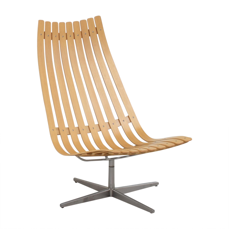 Fjordfiesta Fjordfiesta Scandia Senior Easy Swivel Chair by Hans Brattrud Chairs
