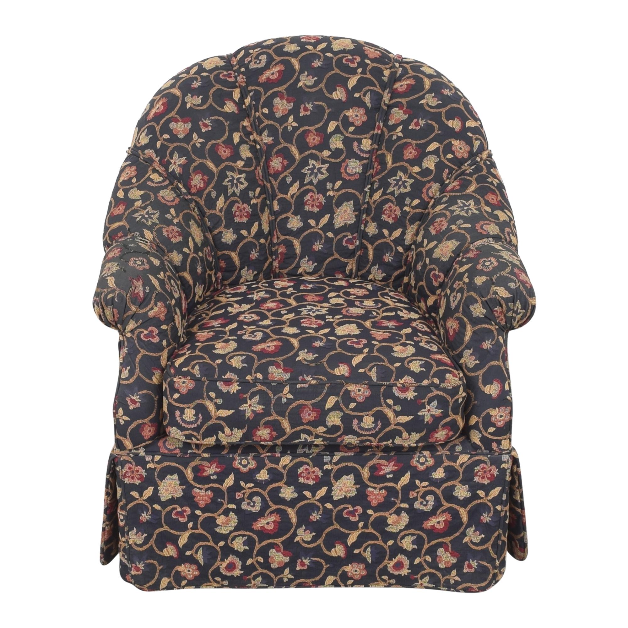 shop Kravet Prelude Skirted Swivel Chair Kravet Chairs