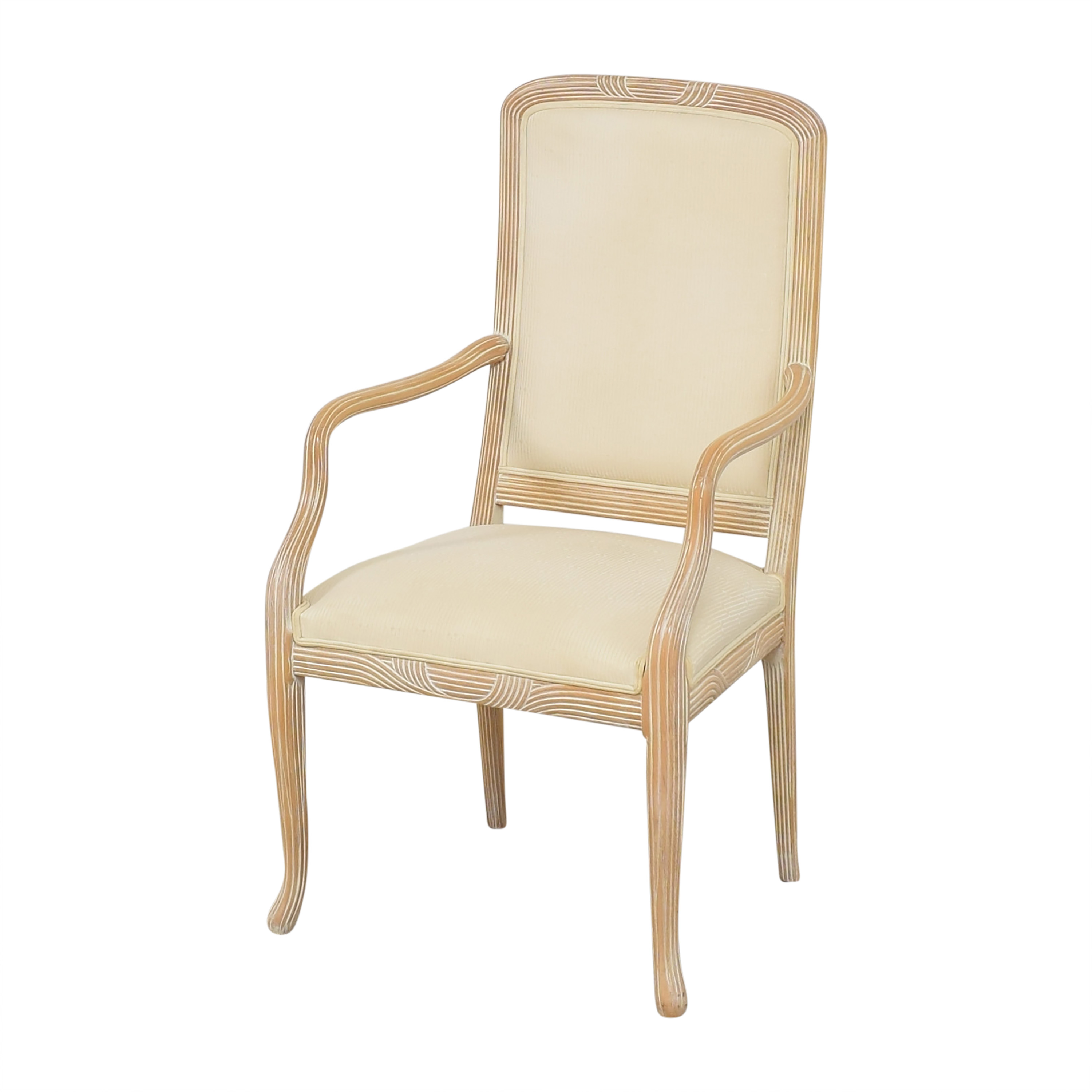 shop Buying & Design Upholstered Dining Arm Chair Buying & Design