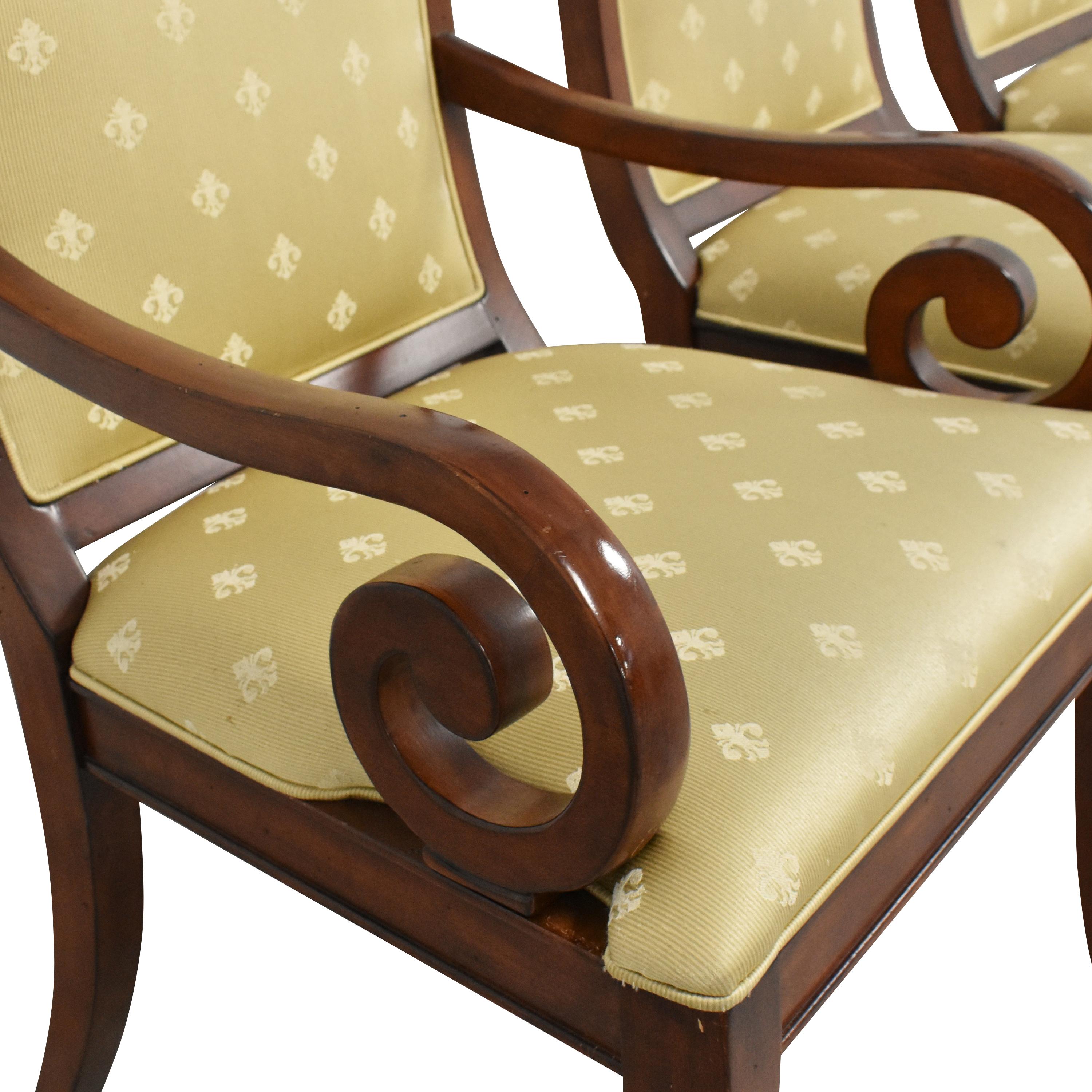 Drexel Heritage Drexel Heritage Upholstered Dining Chairs nj