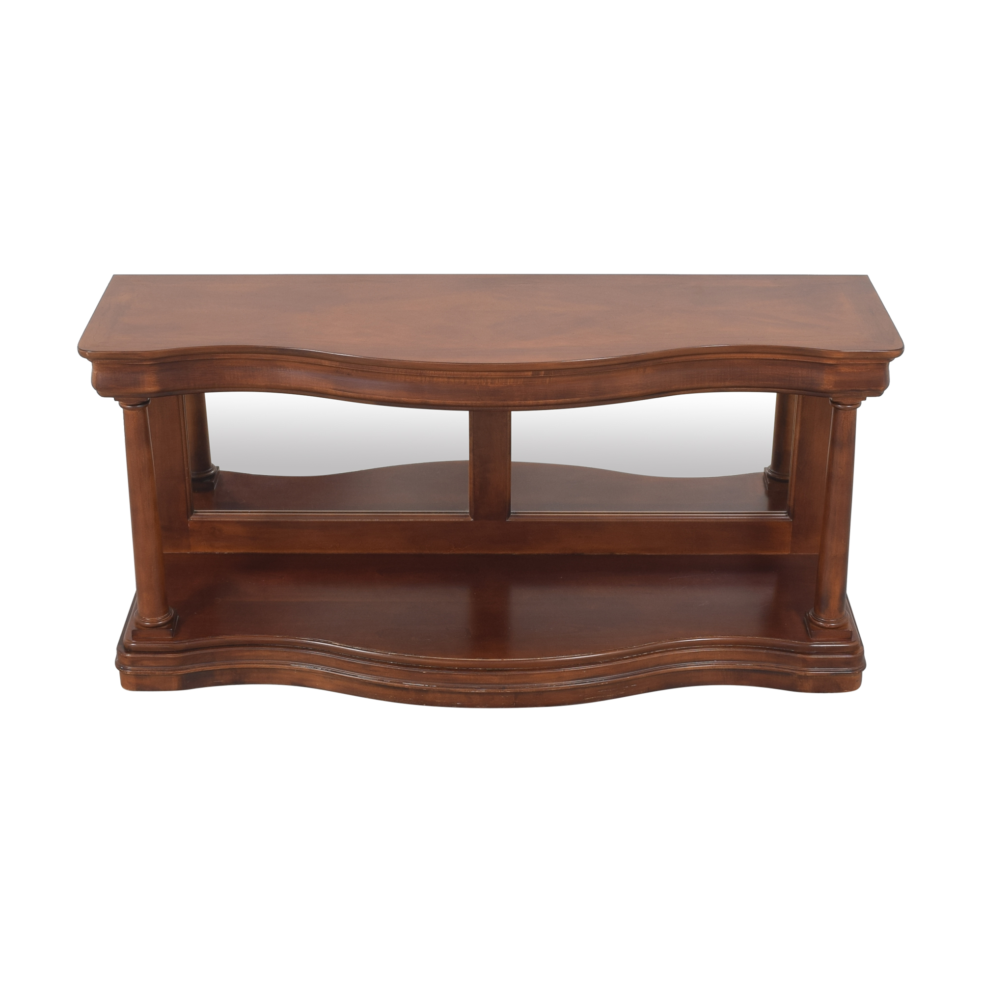 Drexel Heritage Drexel Heritage Mirrored Accent Table brown