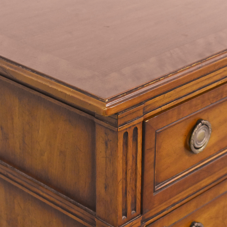 Henredon Furniture Henredon Furniture Custom Nine Drawer Dresser Storage