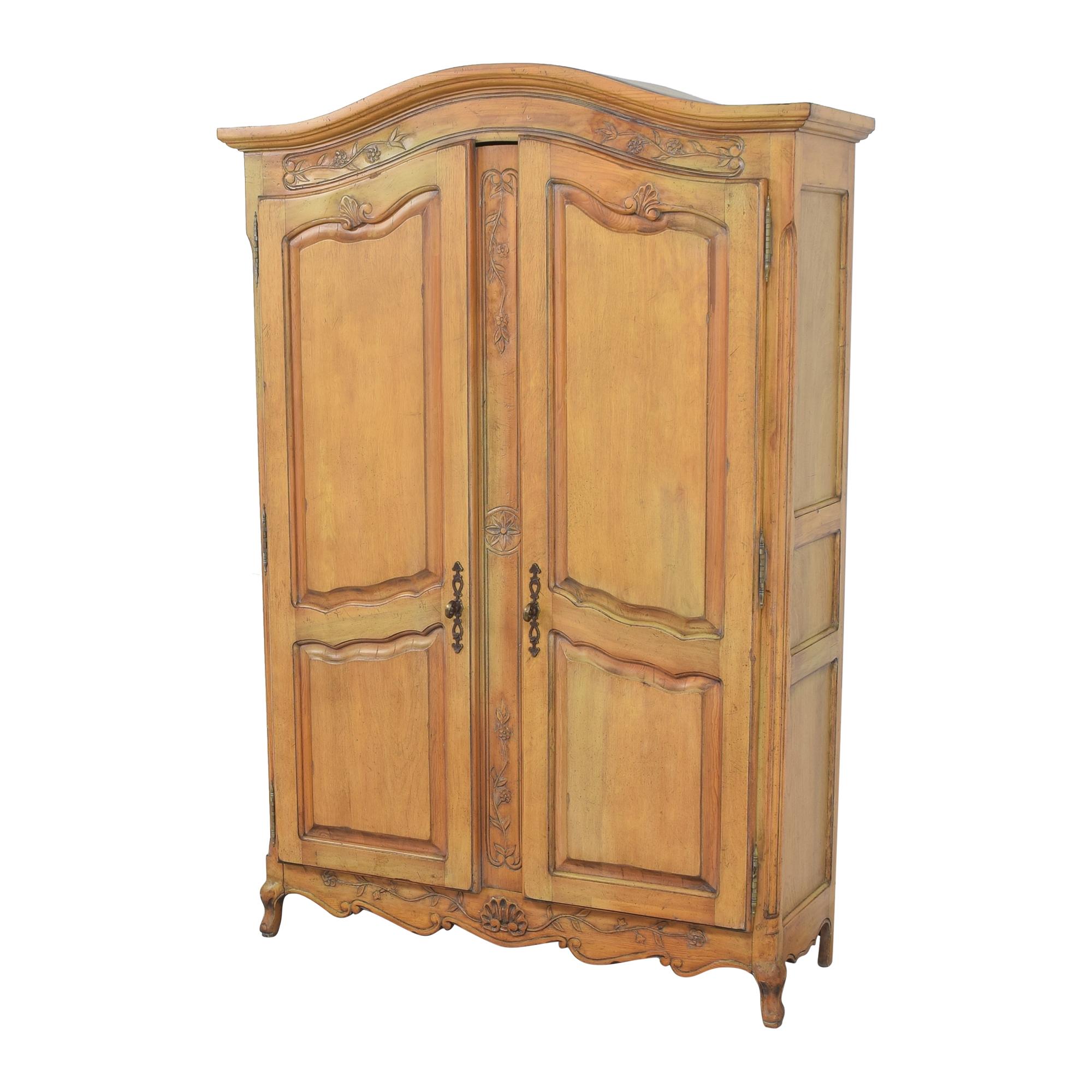 buy Vintage Two Door Armoire  Wardrobes & Armoires